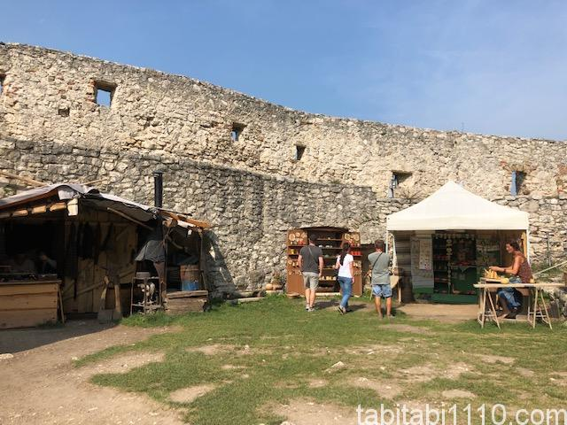 スピシュ城|城の中②