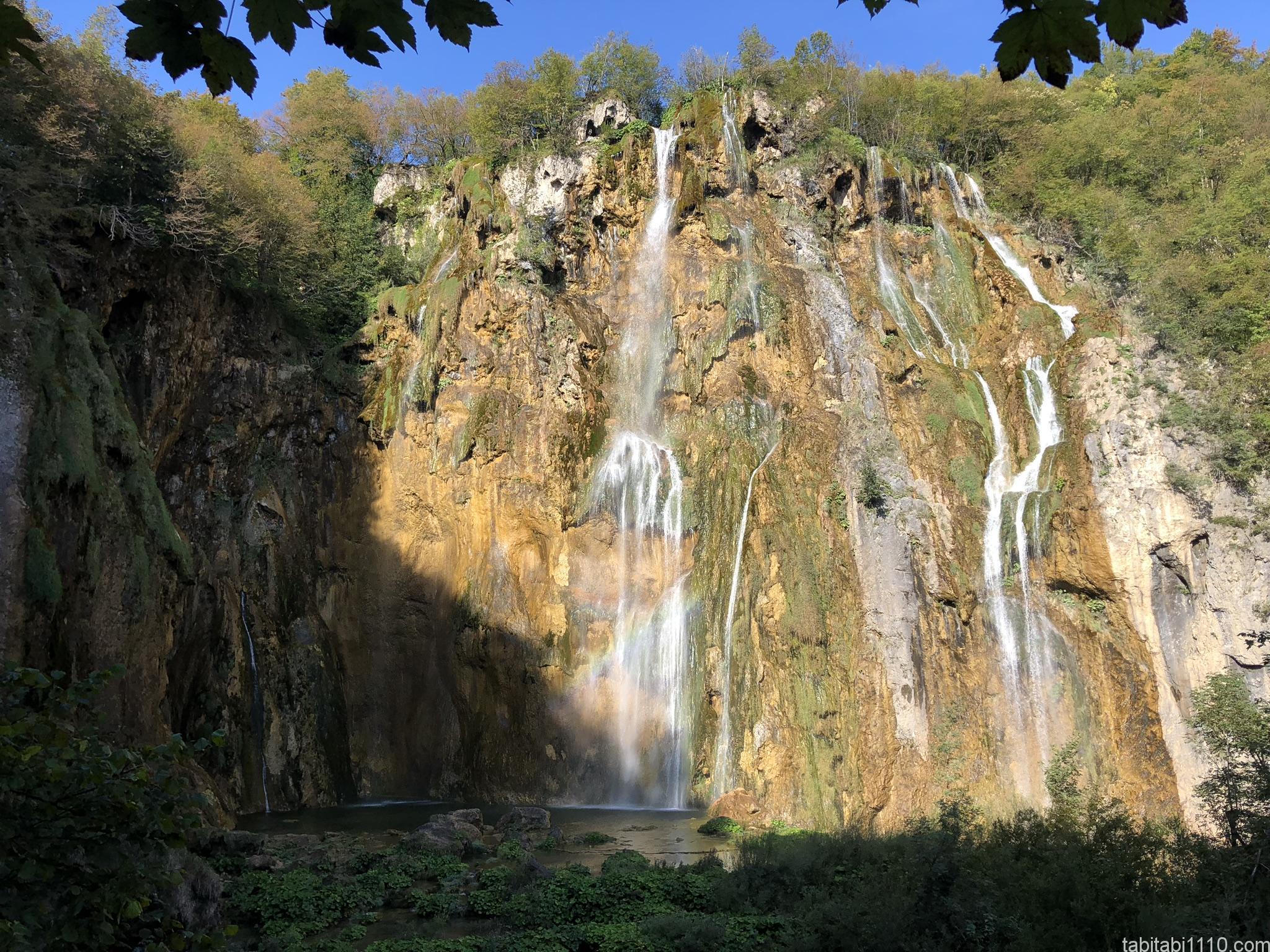 プリトヴィッチェ湖群国立公園|下湖1