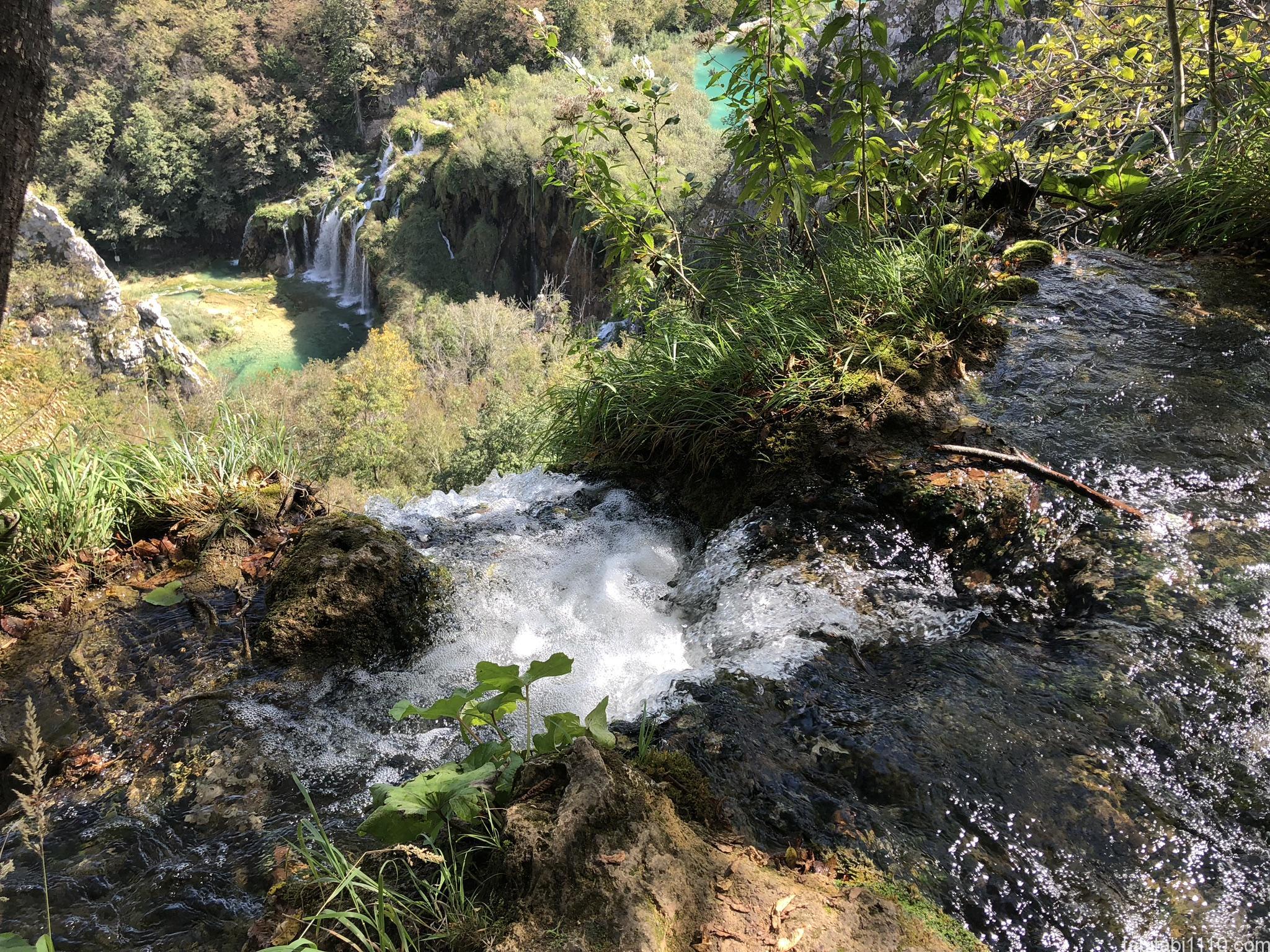 プリトヴィッチェ湖群国立公園|下湖5