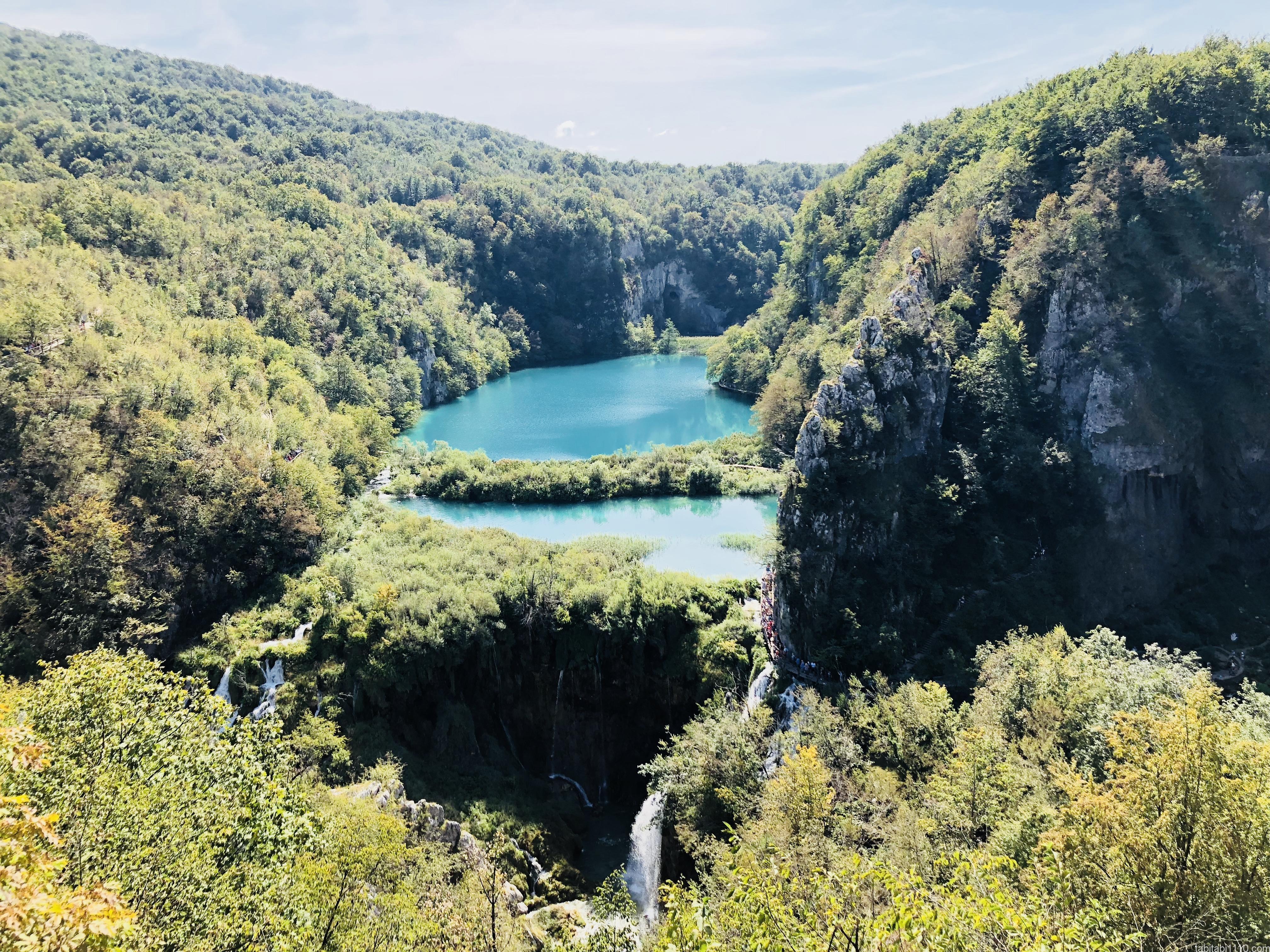 プリトヴィッチェ湖群国立公園|下湖16