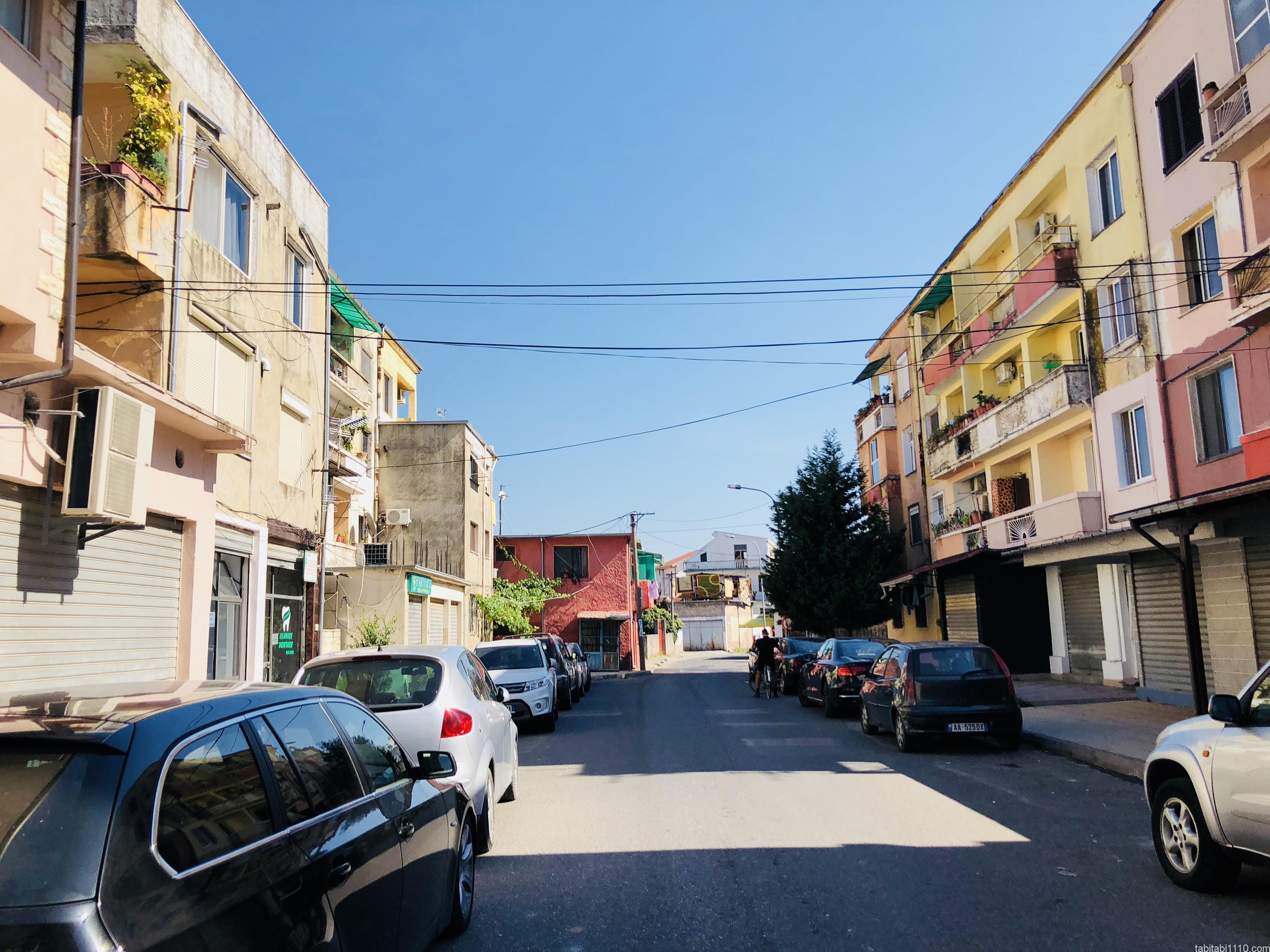 シュコドラの街並み