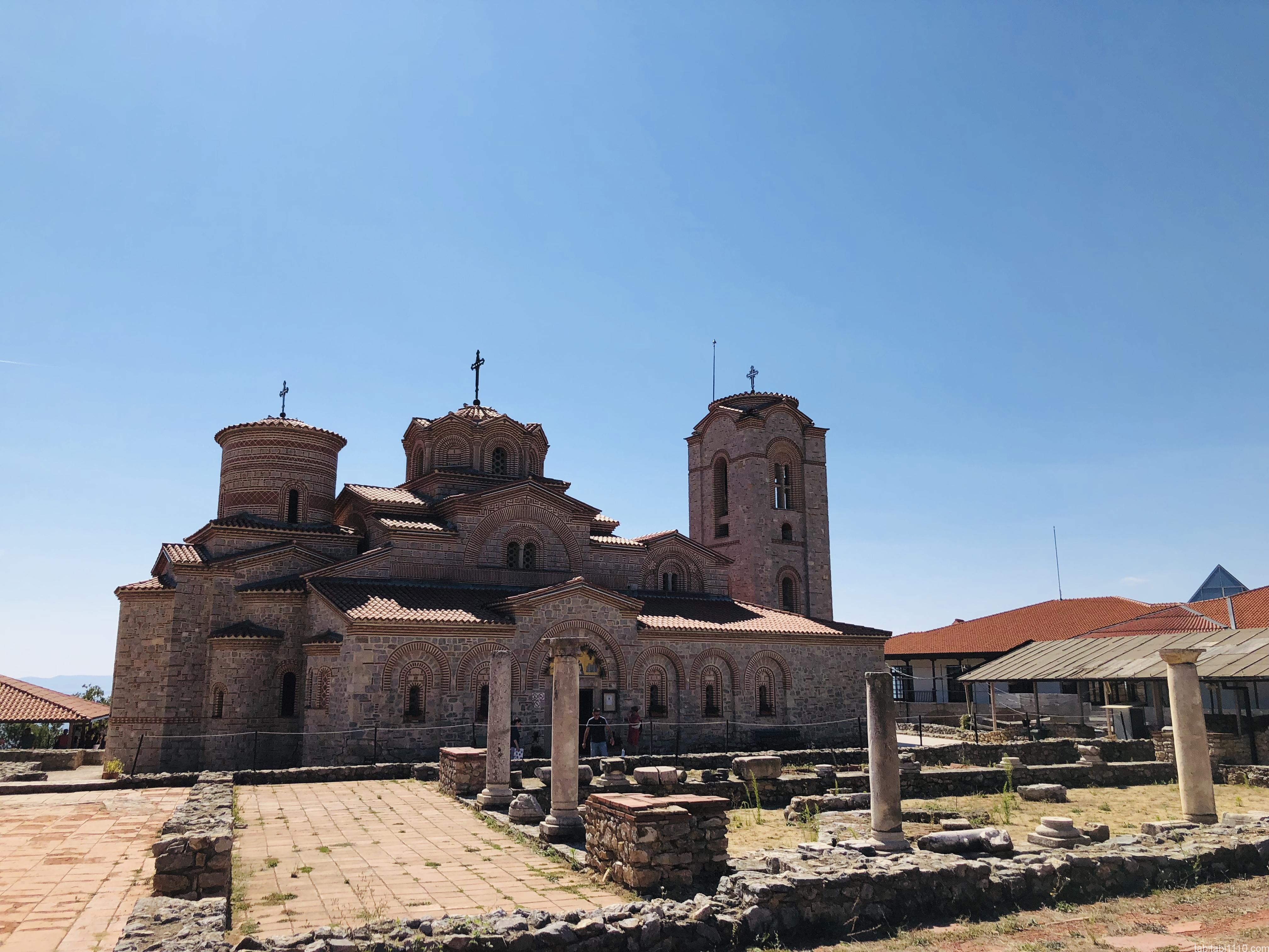 オフリド|修道院