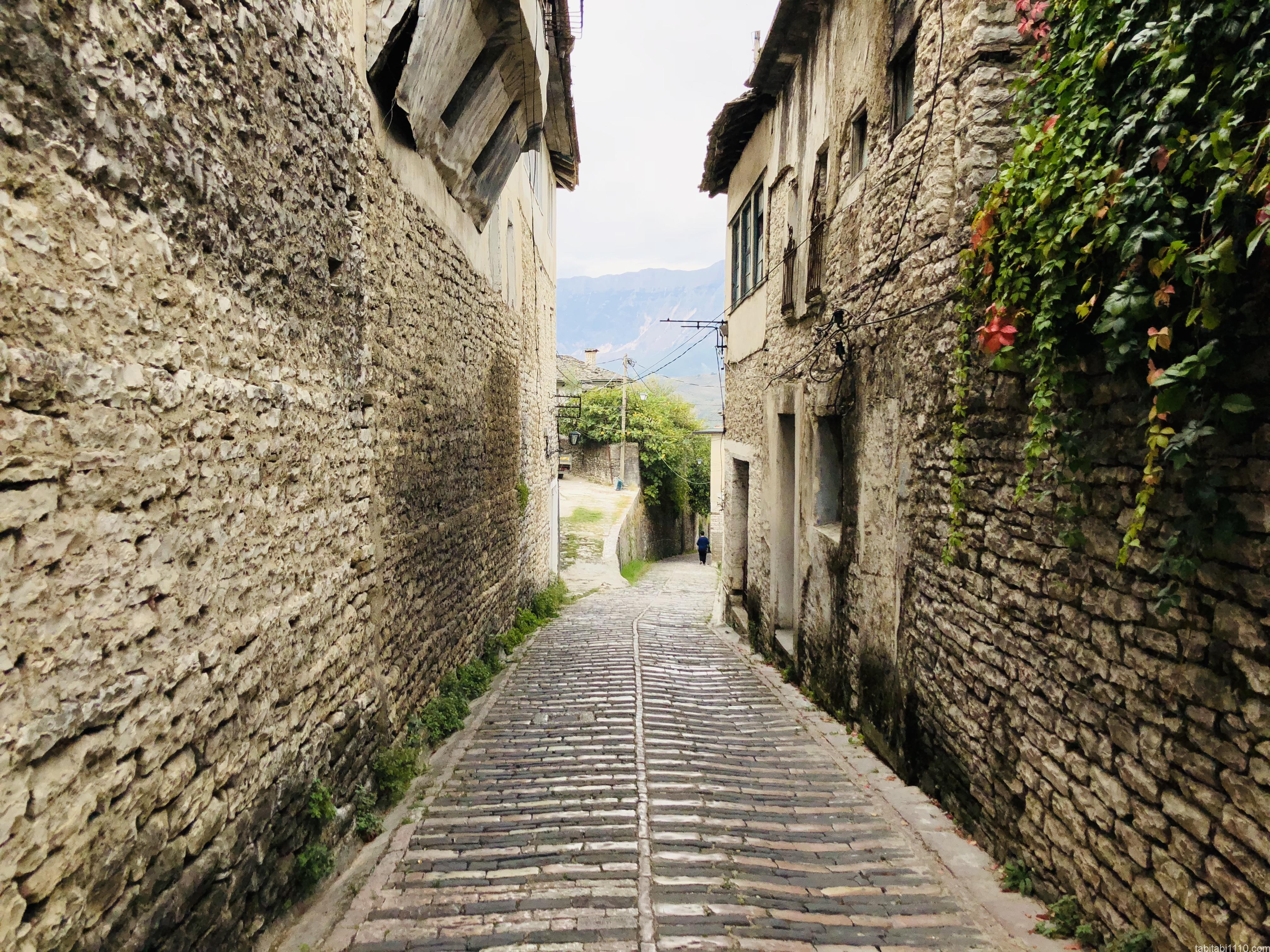 ジロカストラ旧市街