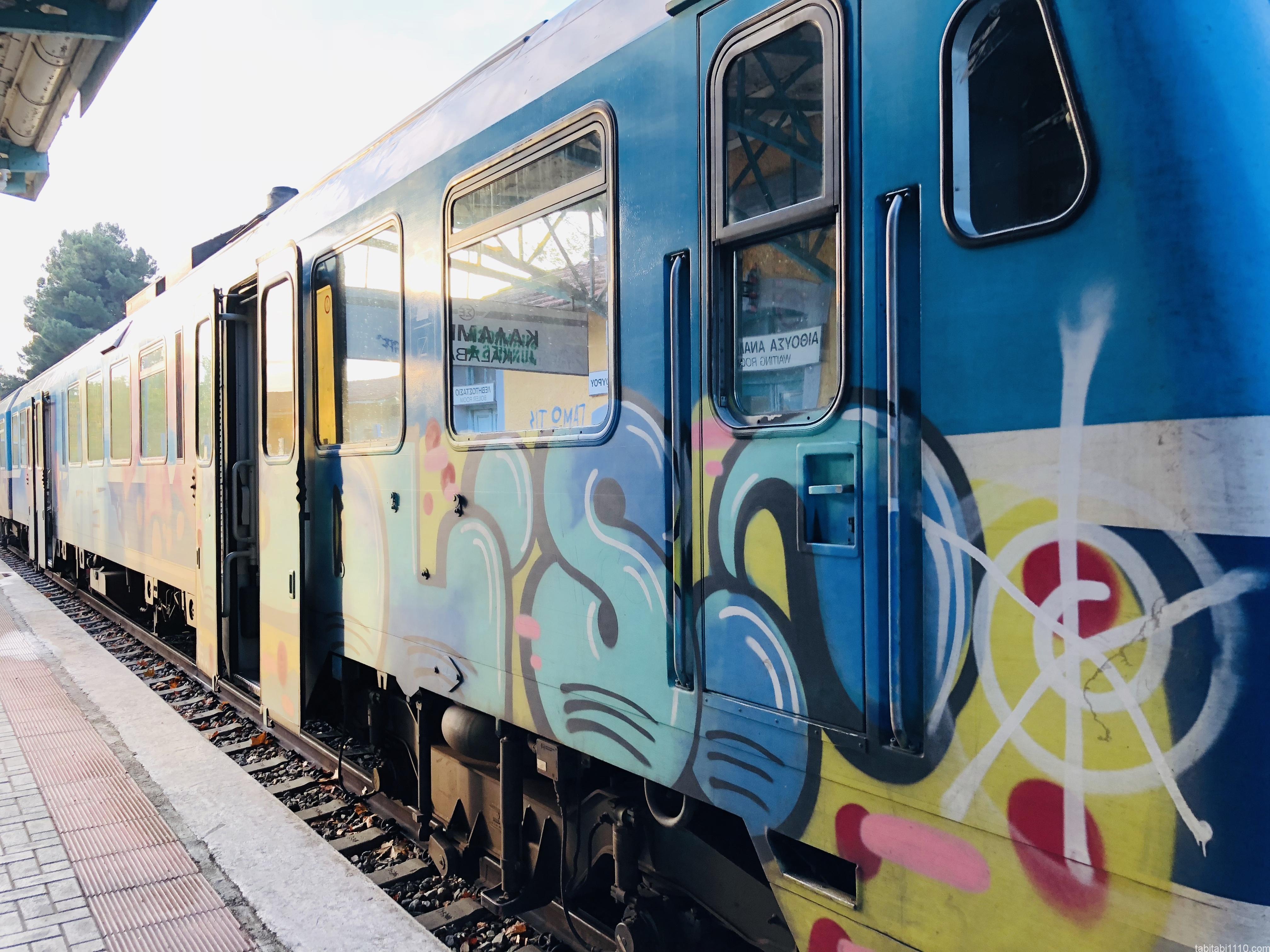 カランバカからテッサロニキへの電車