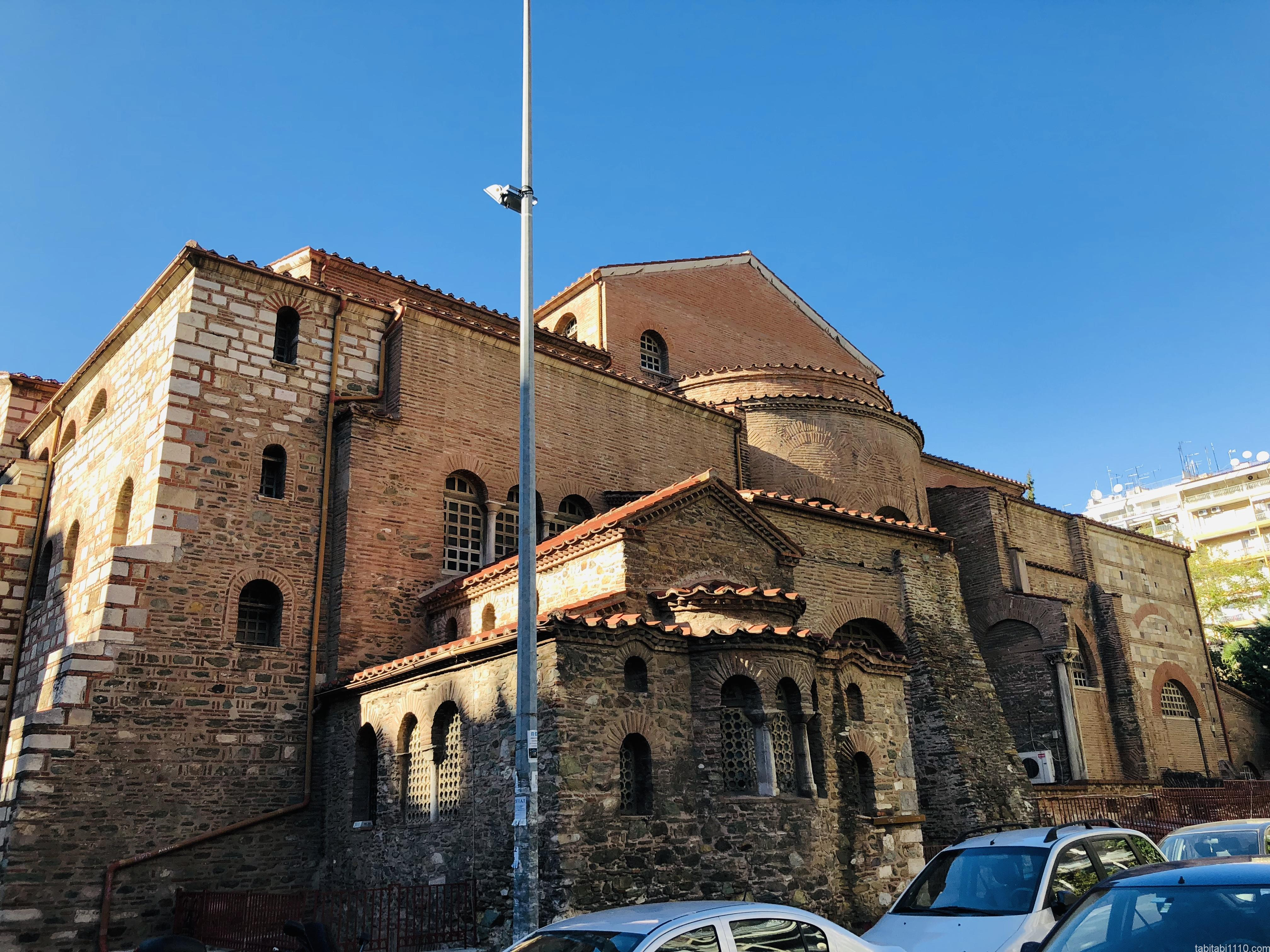 テッサロニキ観光|アギオス・ディミトリオス聖堂
