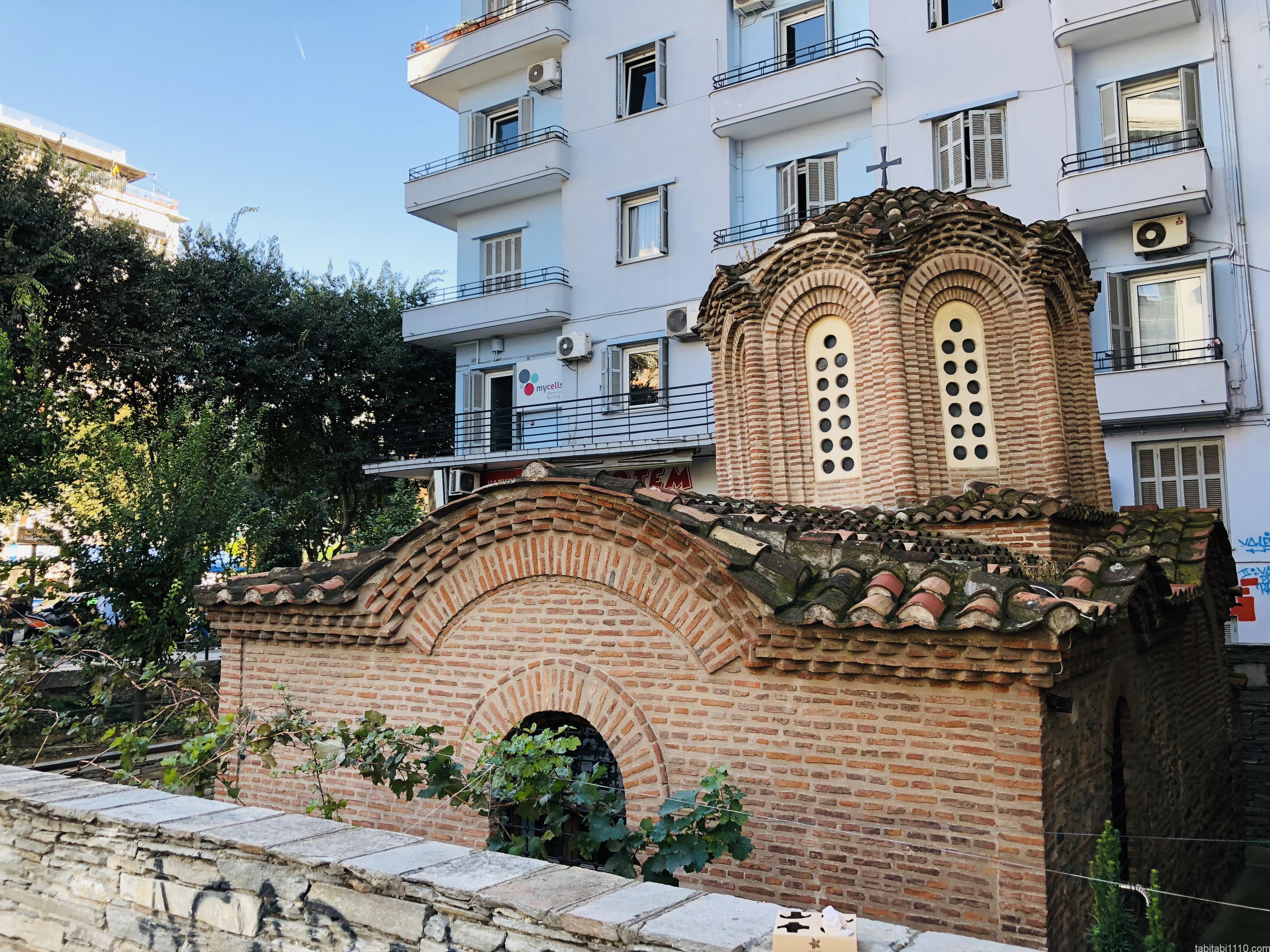 テッサロニキ観光|ビザンティン建築の遺跡
