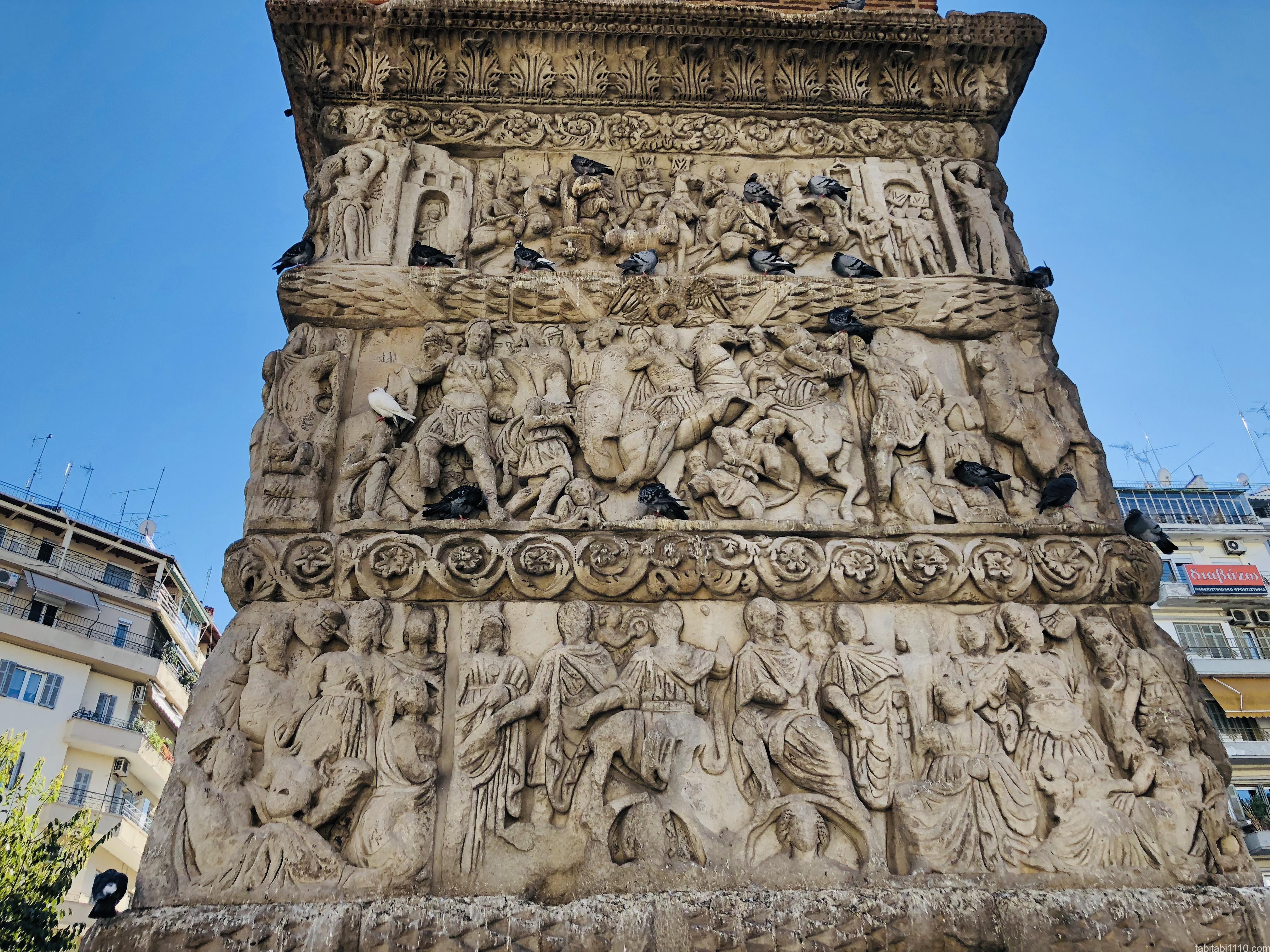 テッサロニキ観光|ガレリウスの凱旋門