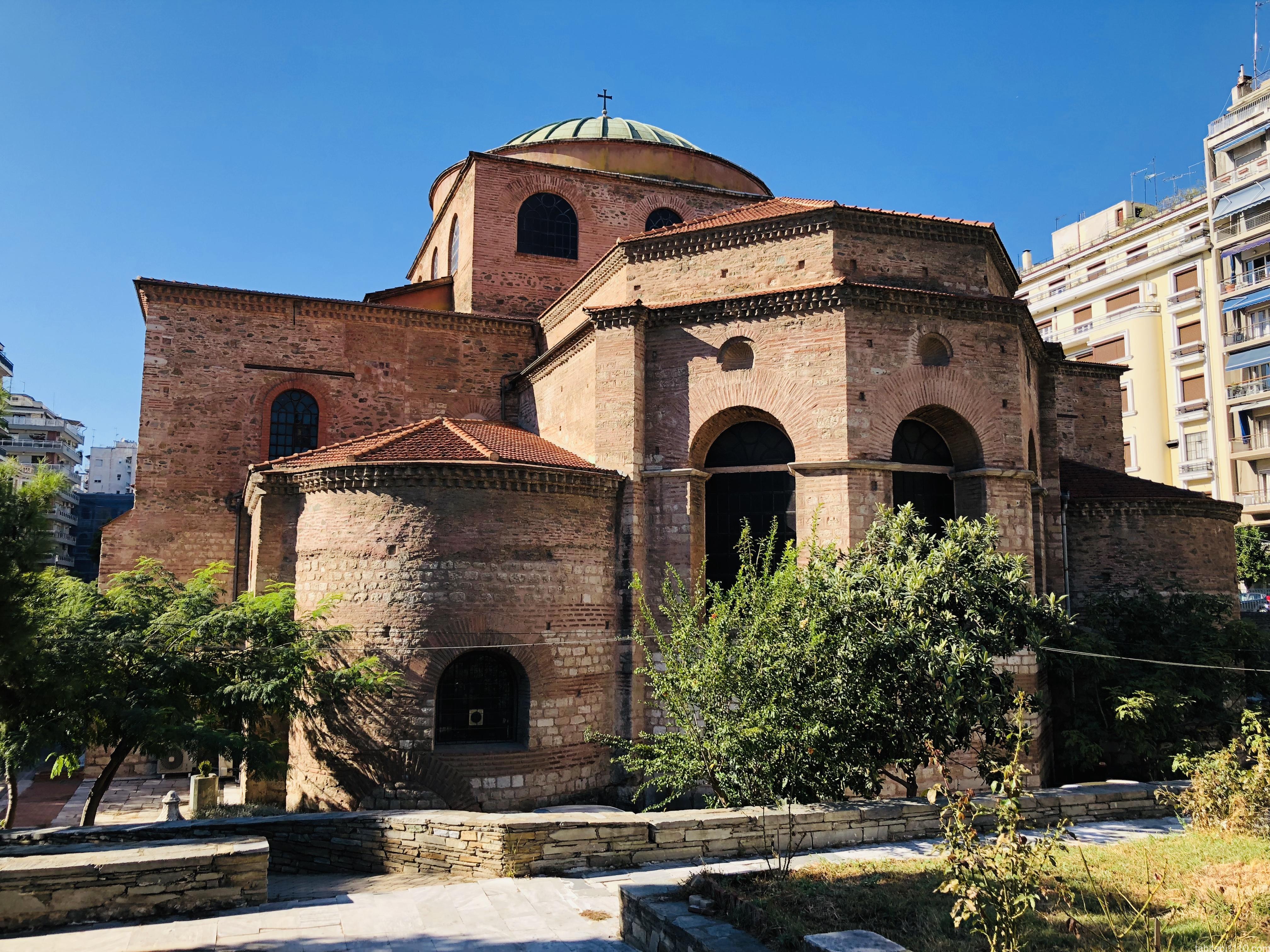 テッサロニキ観光|アギア・ソフィア聖堂