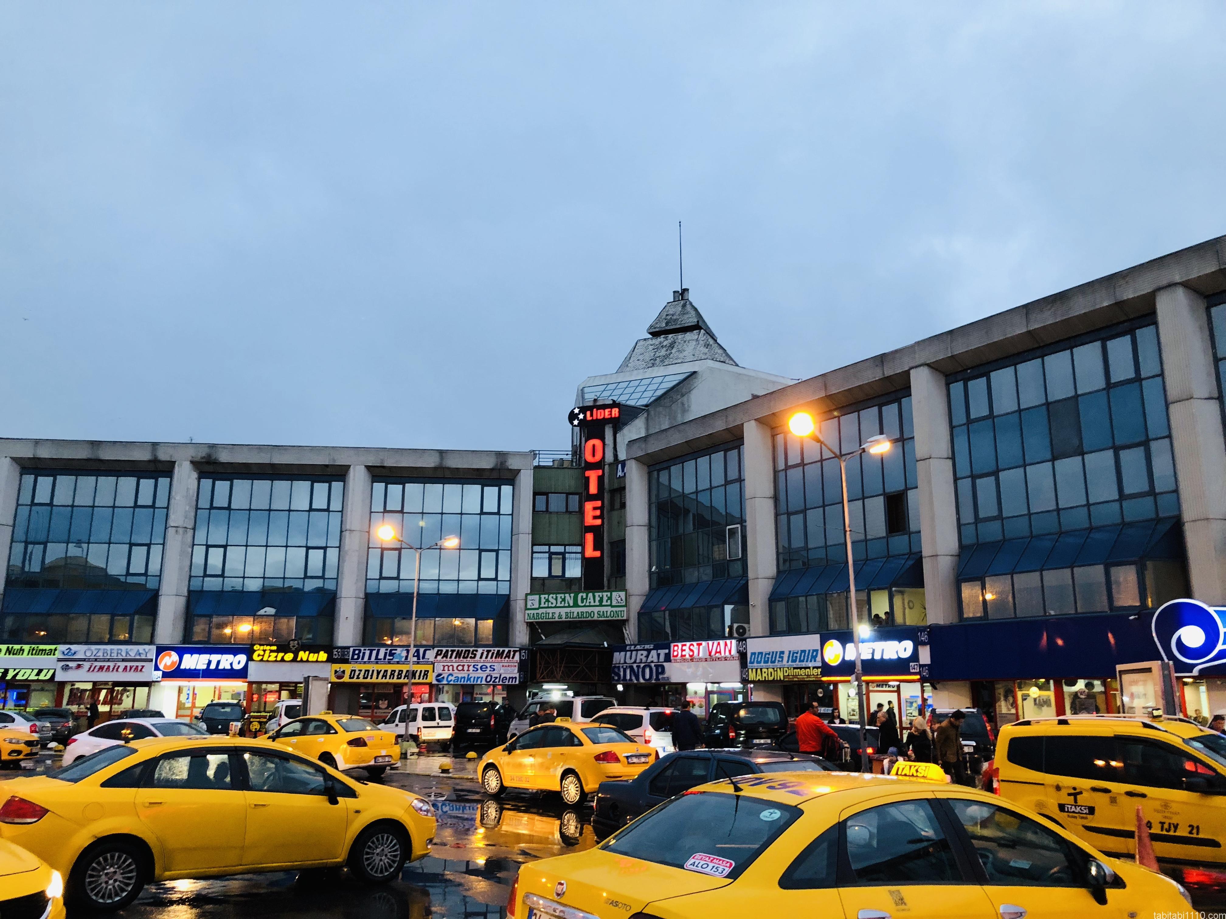 イスタンブール|バスターミナル
