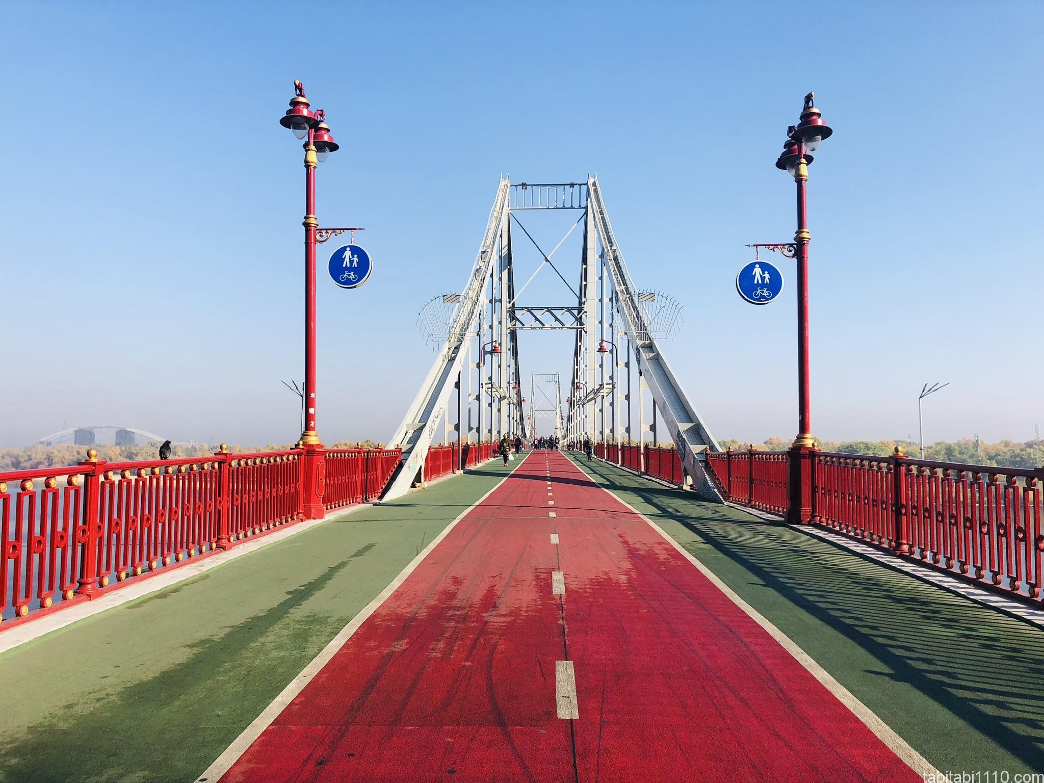 キエフ|ホコテン橋1