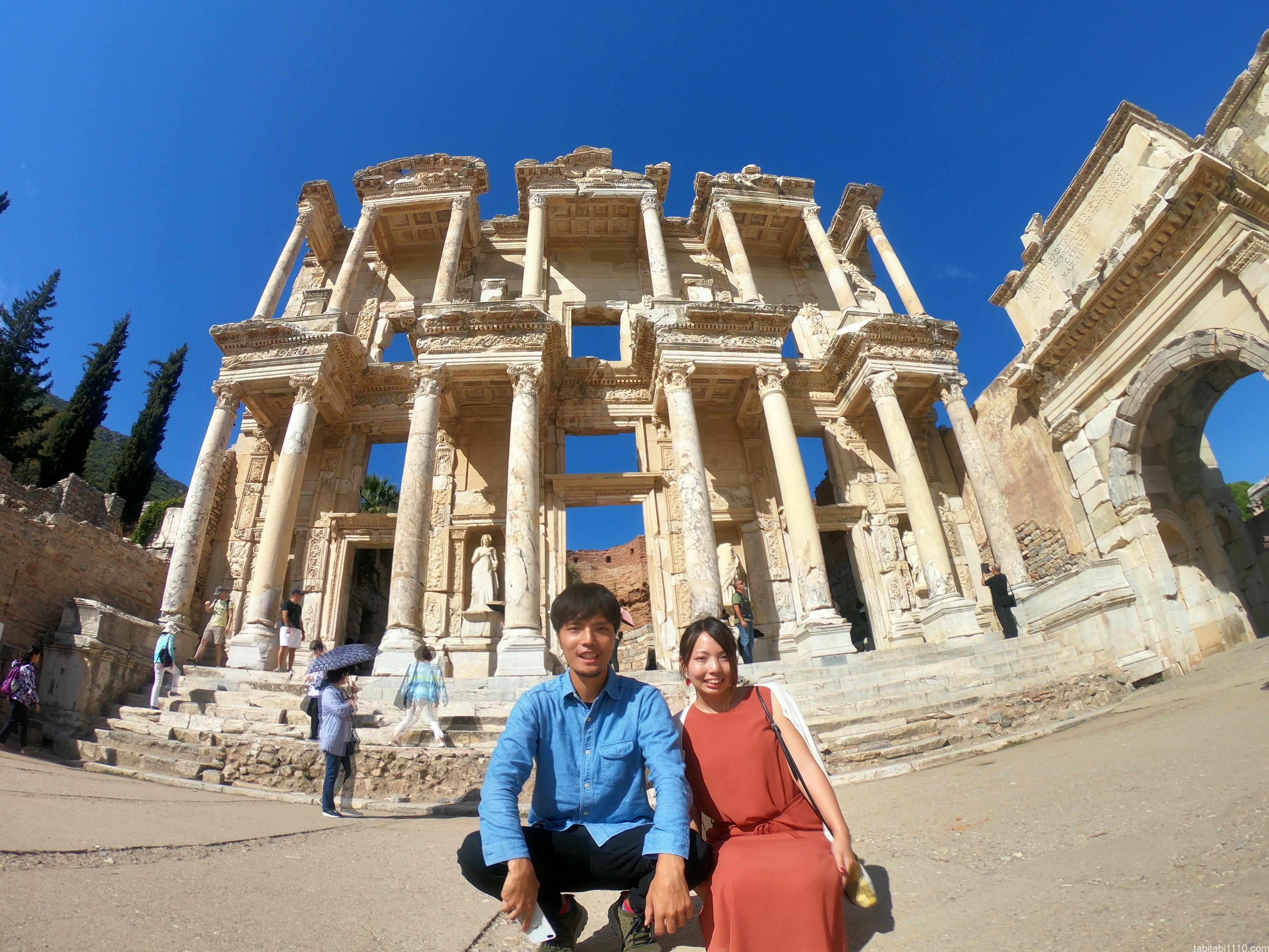 エフェソス遺跡|記念写真