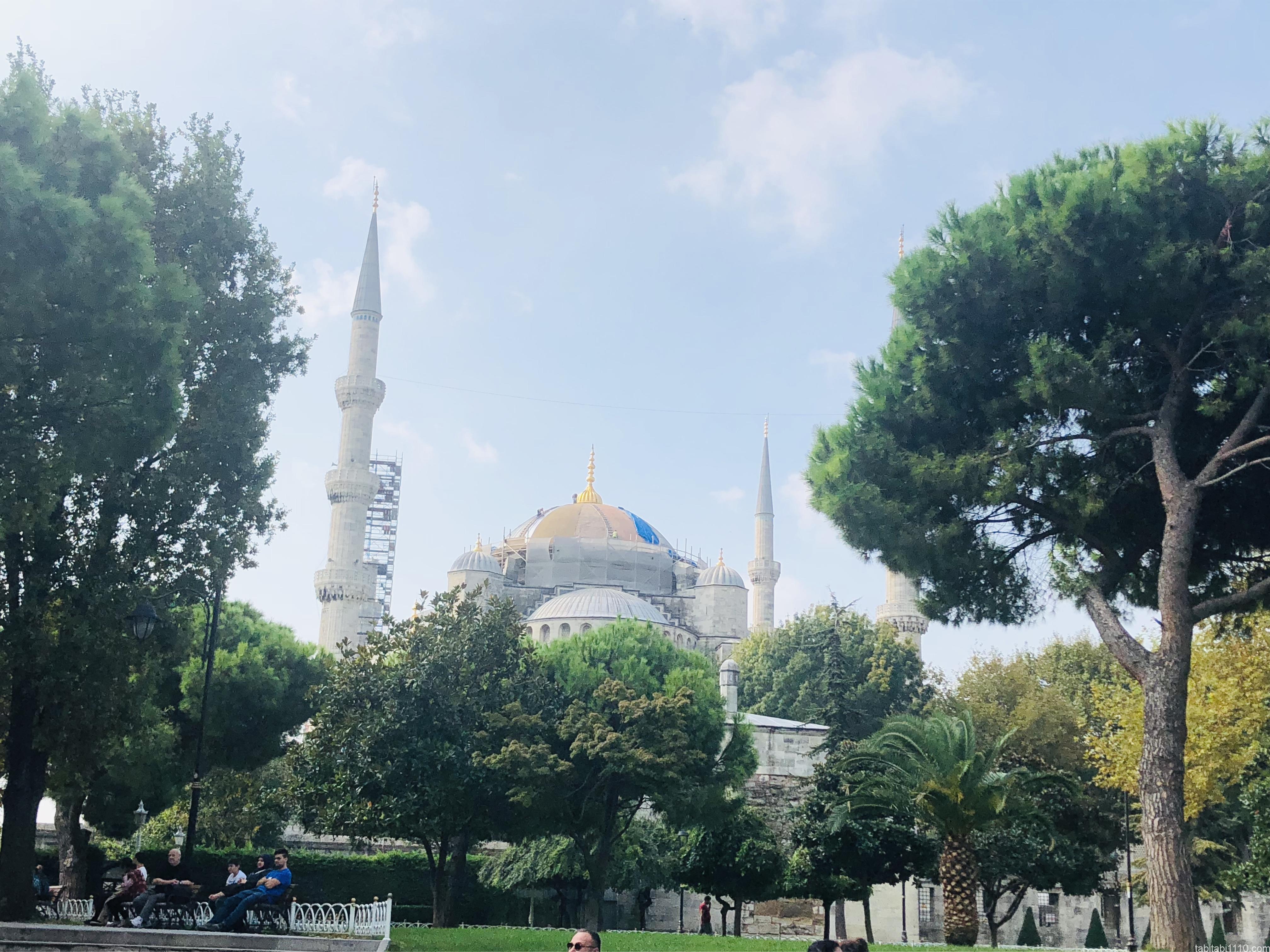 イスタンブール|ブルーモスク
