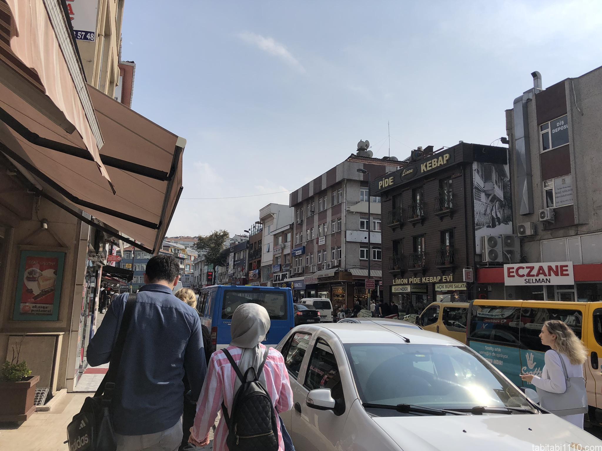 イスタンブール|アジア側街並み