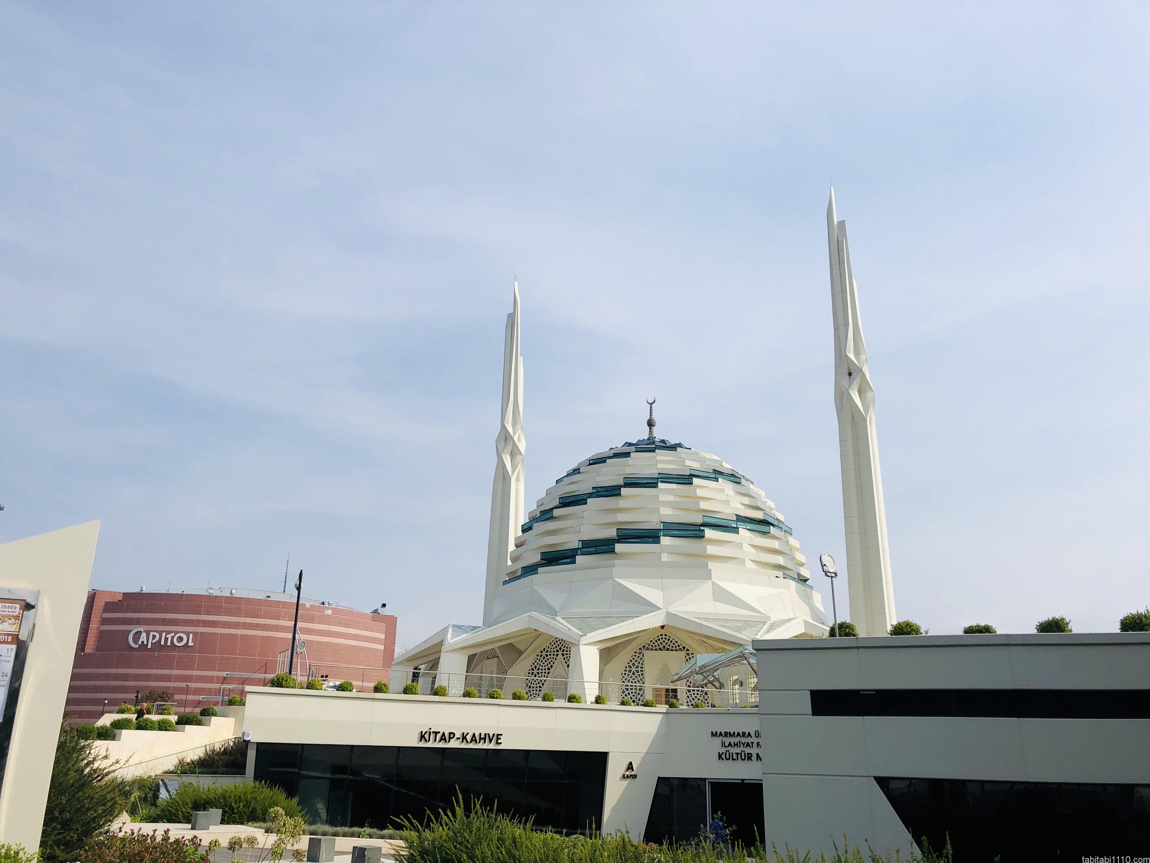 イスタンブール|アジア側モスク外観①
