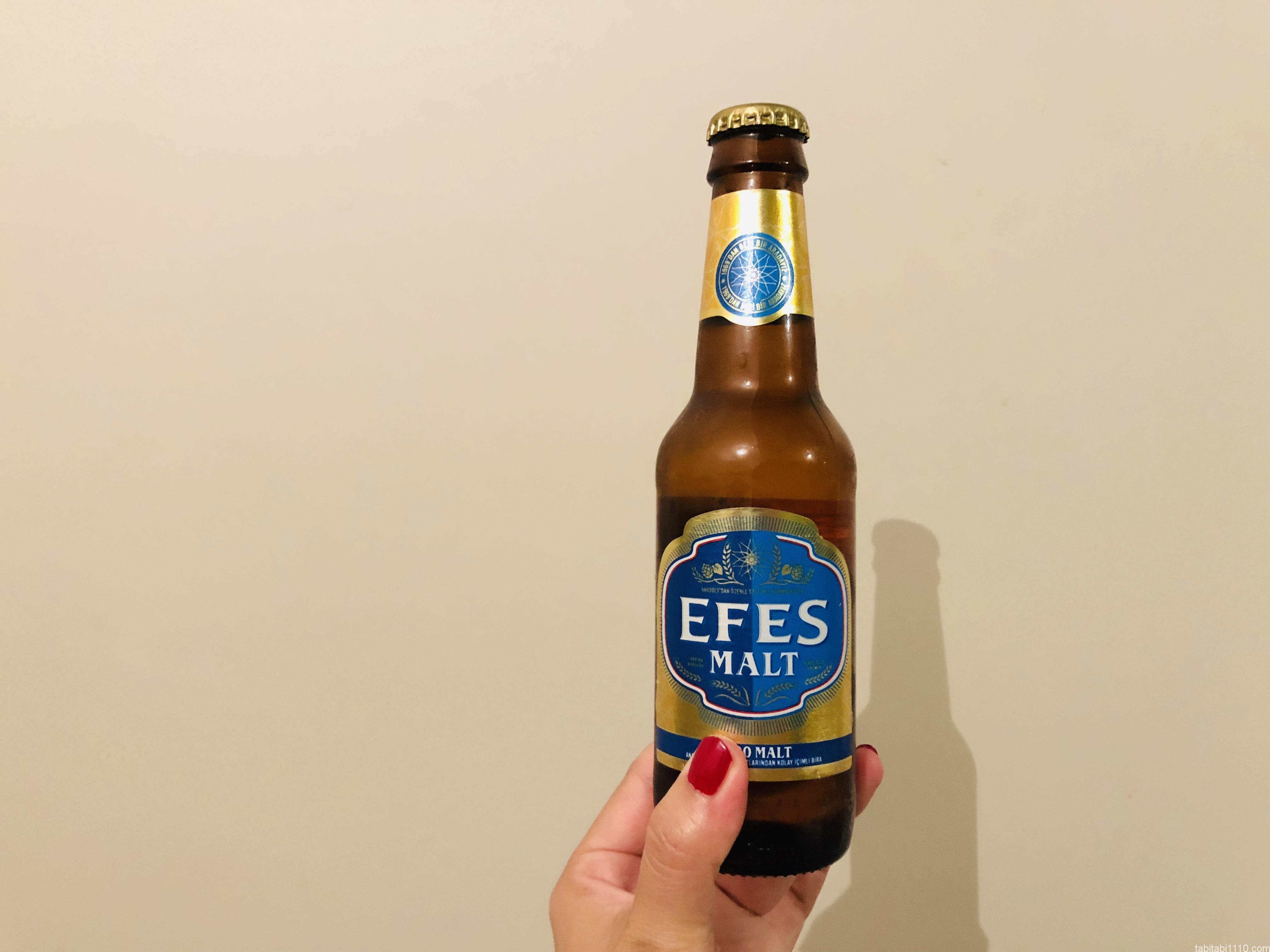 トルコビールEFES