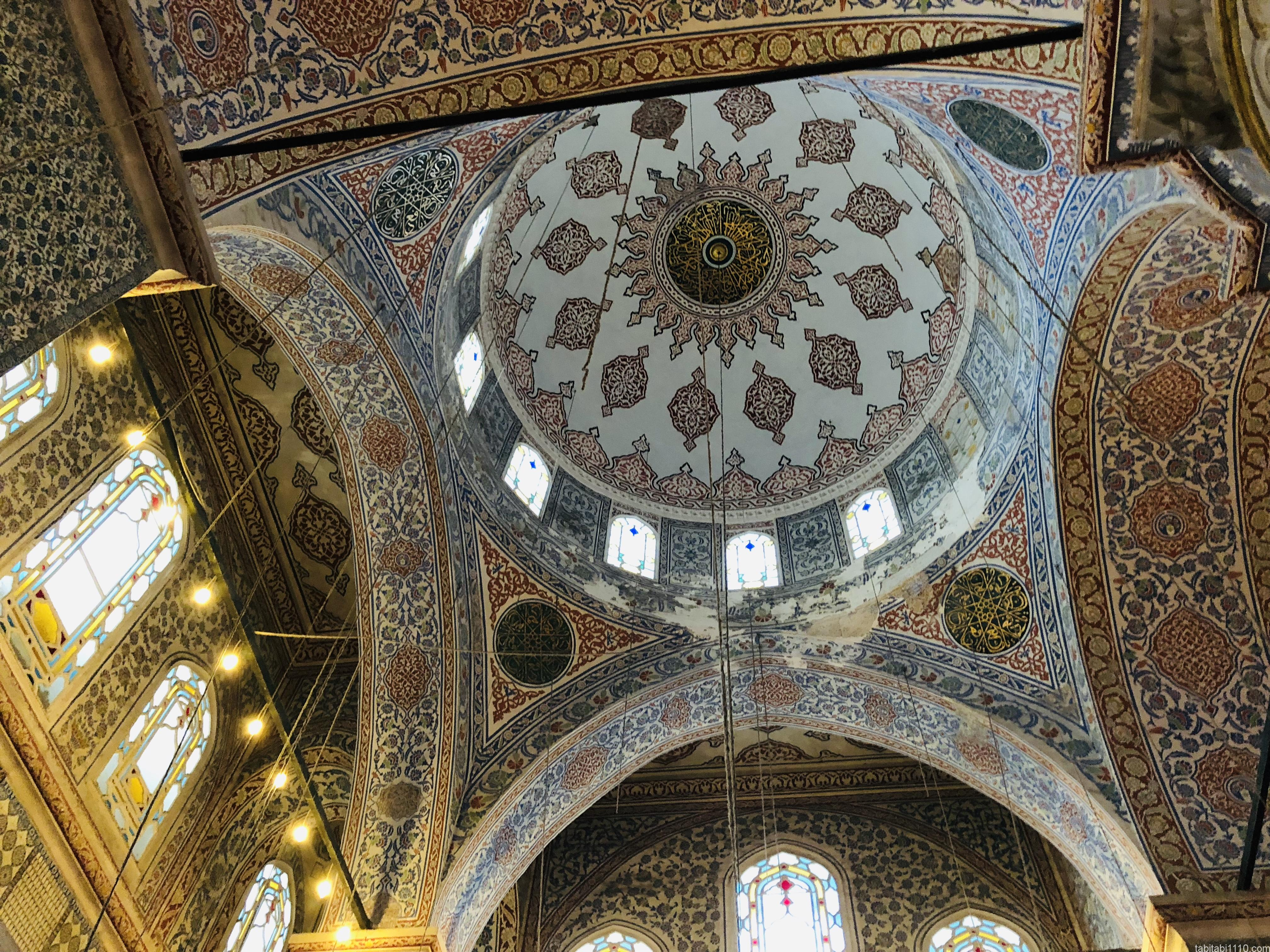 イスタンブール|ブルーモスク③