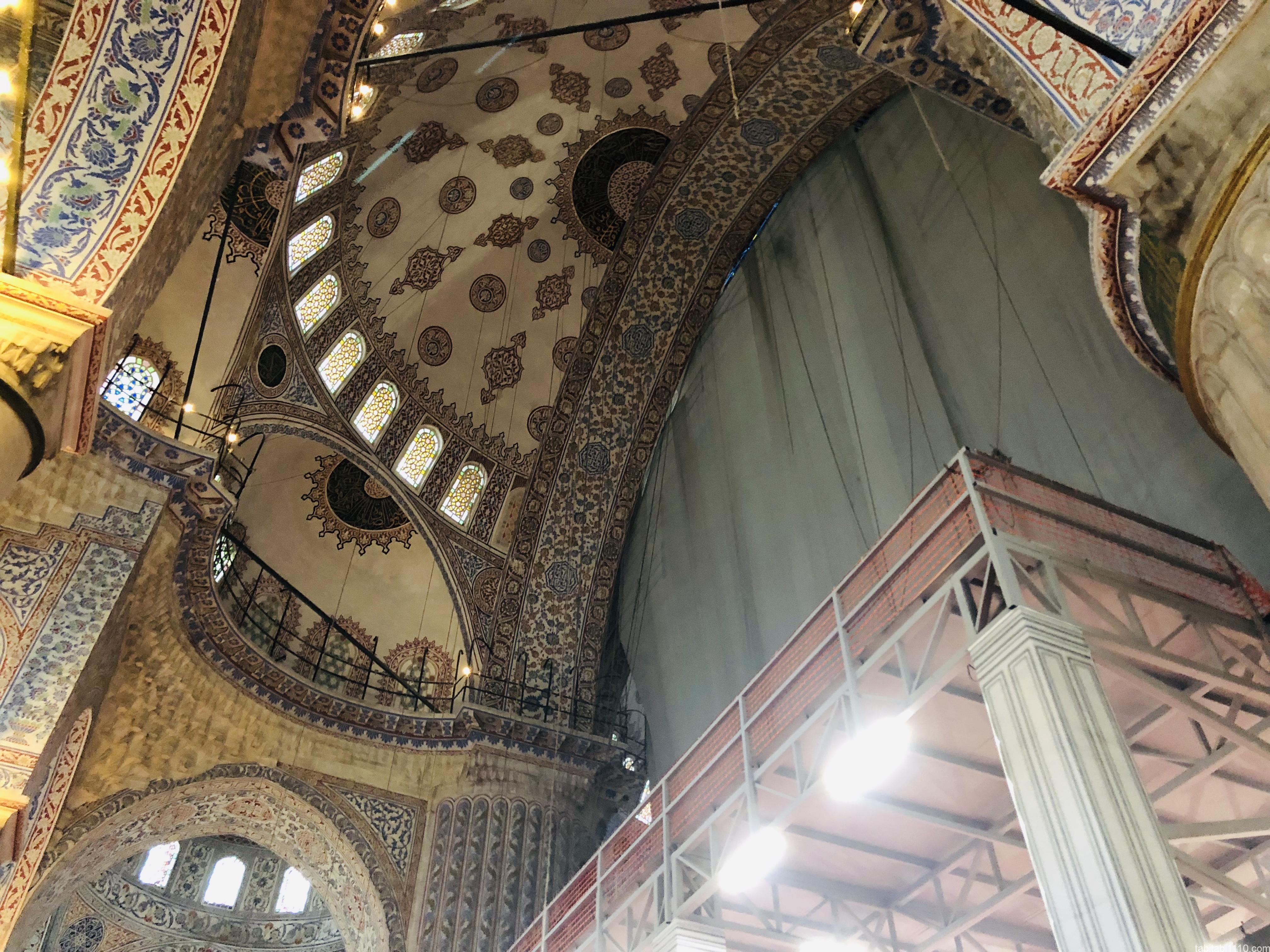 イスタンブール|ブルーモスク①