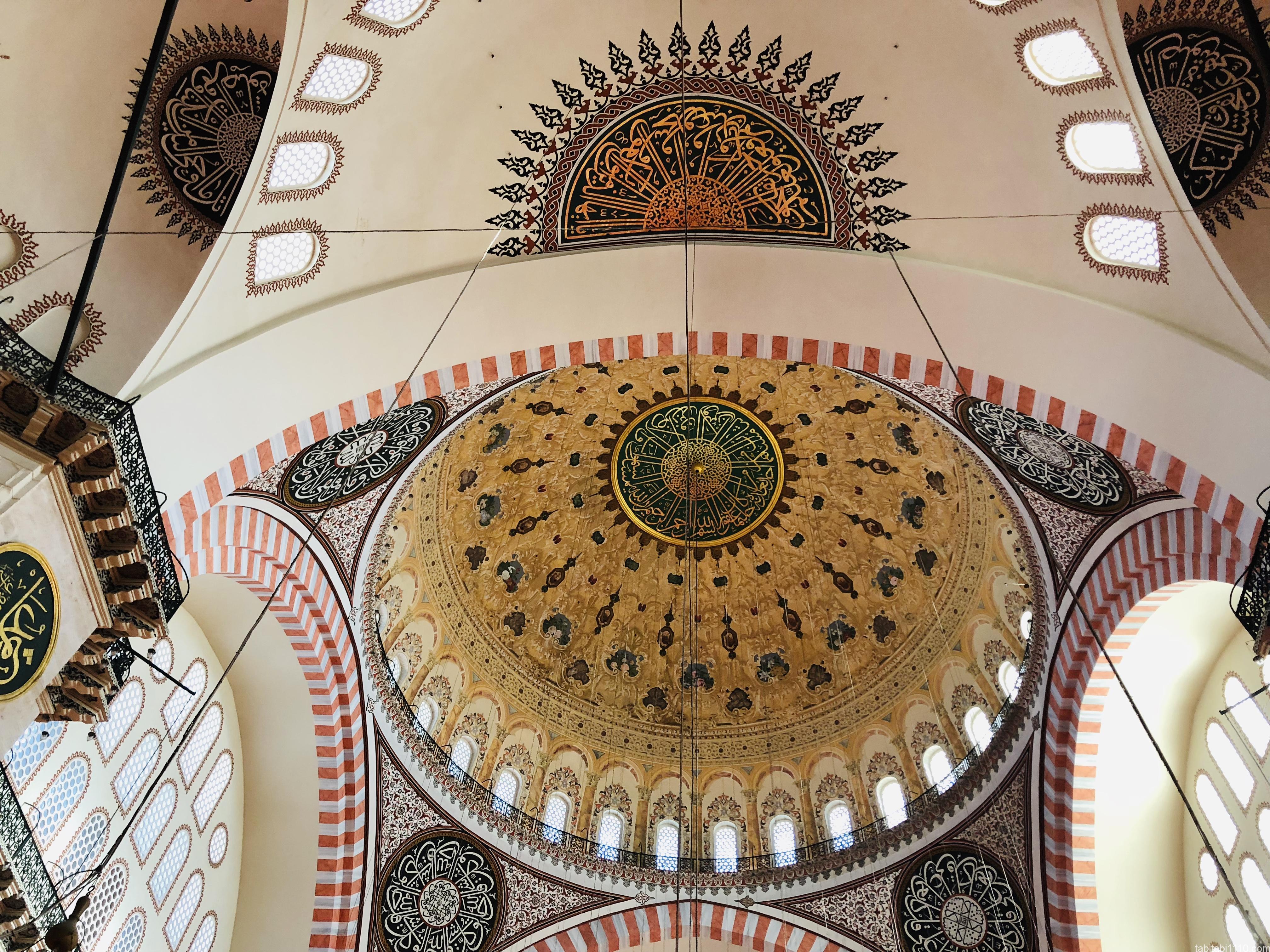 スレイマニエモスク|天井