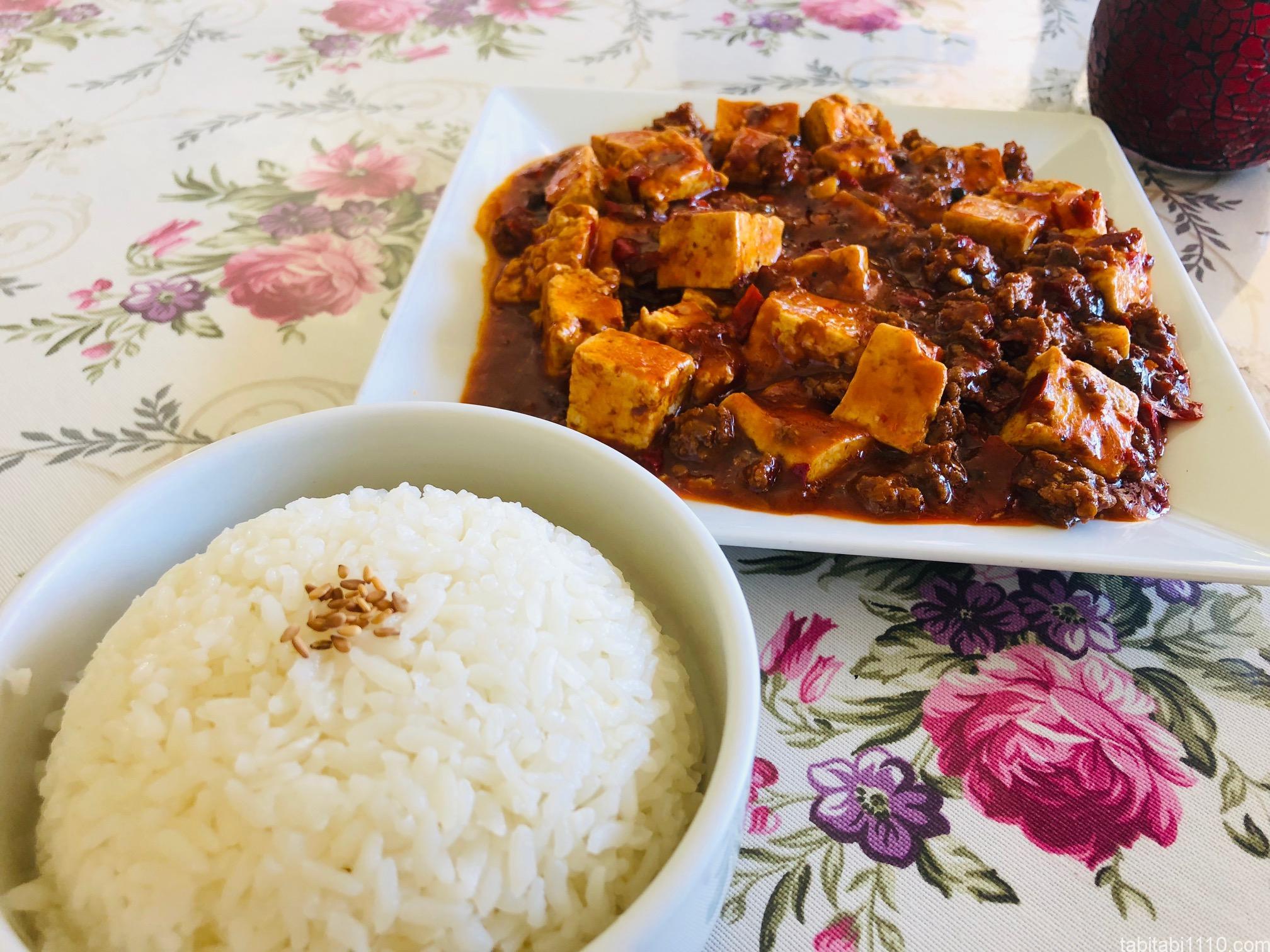 パムッカレで中華料理|麻婆豆腐