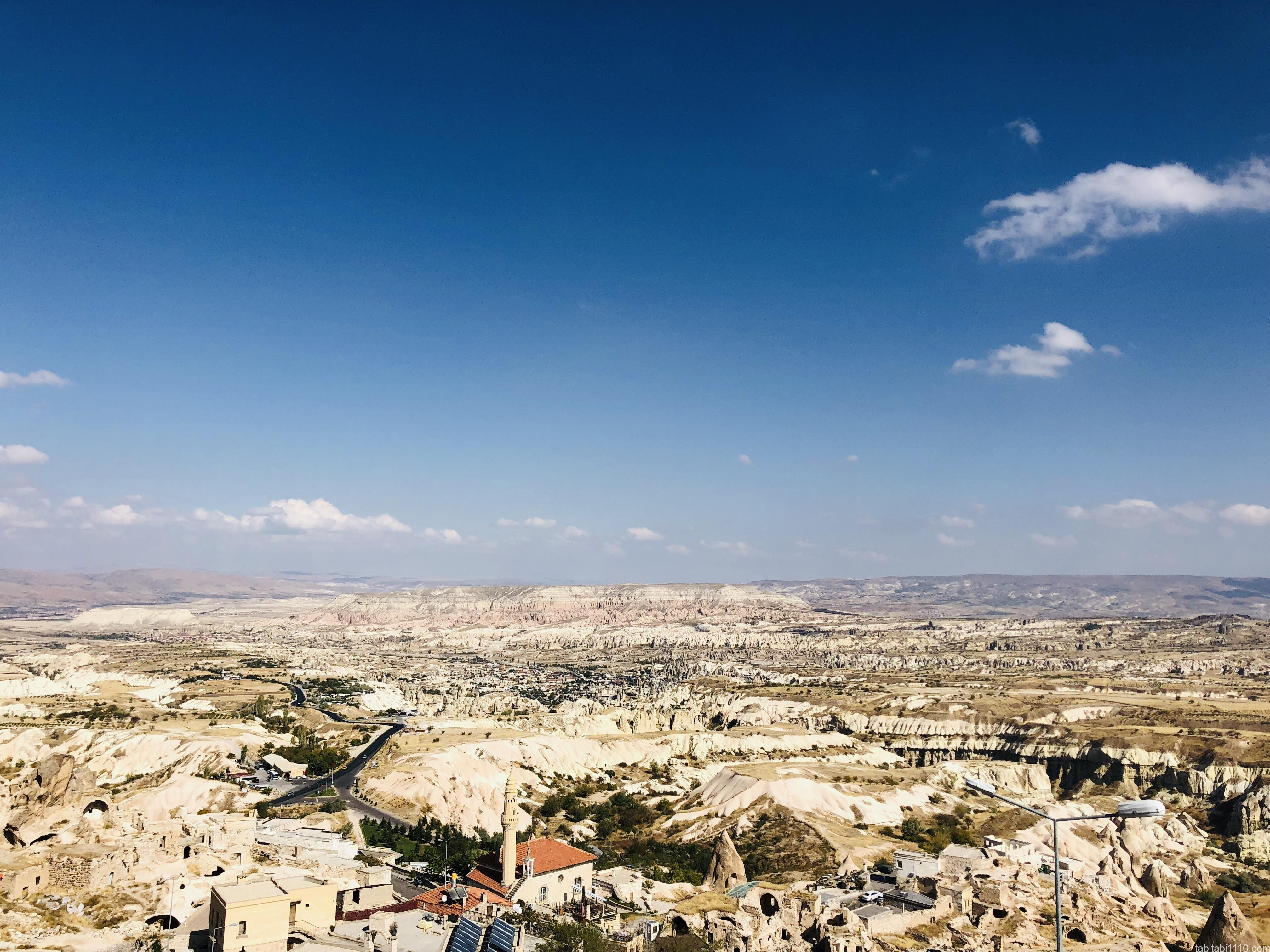 ウチヒサール城からの景色1