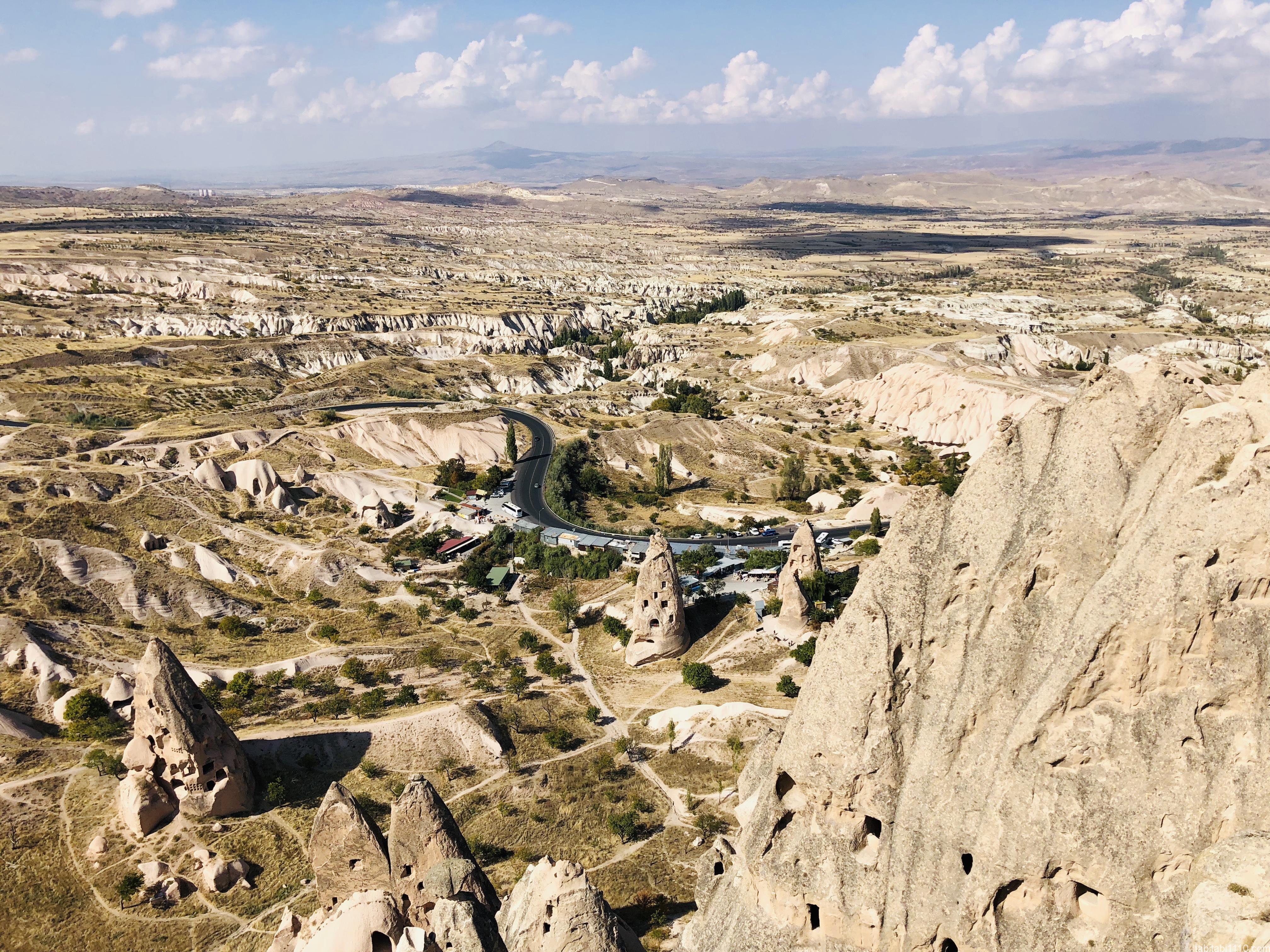 ウチヒサール城からの景色2