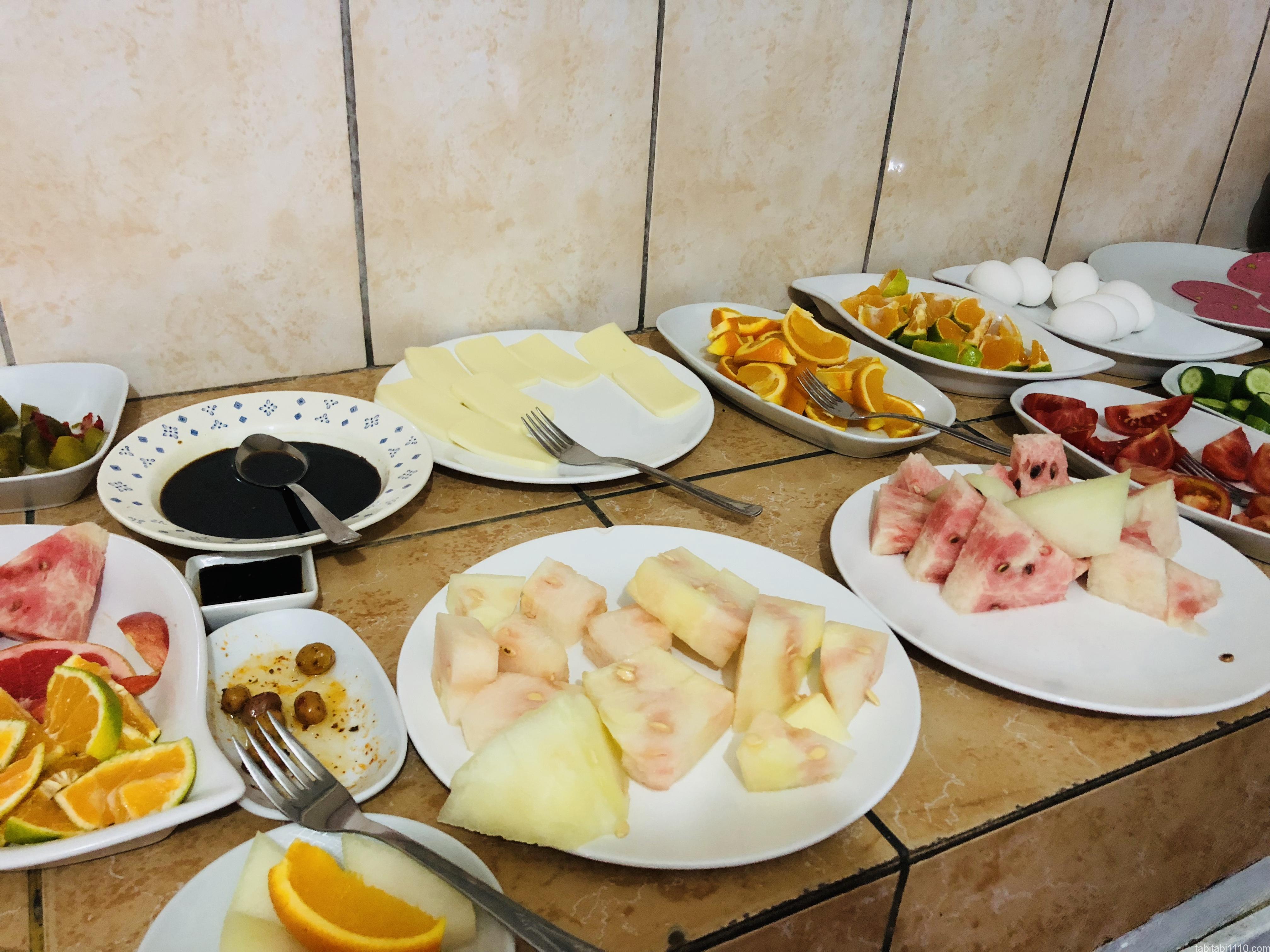 ギョレメ宿|朝食