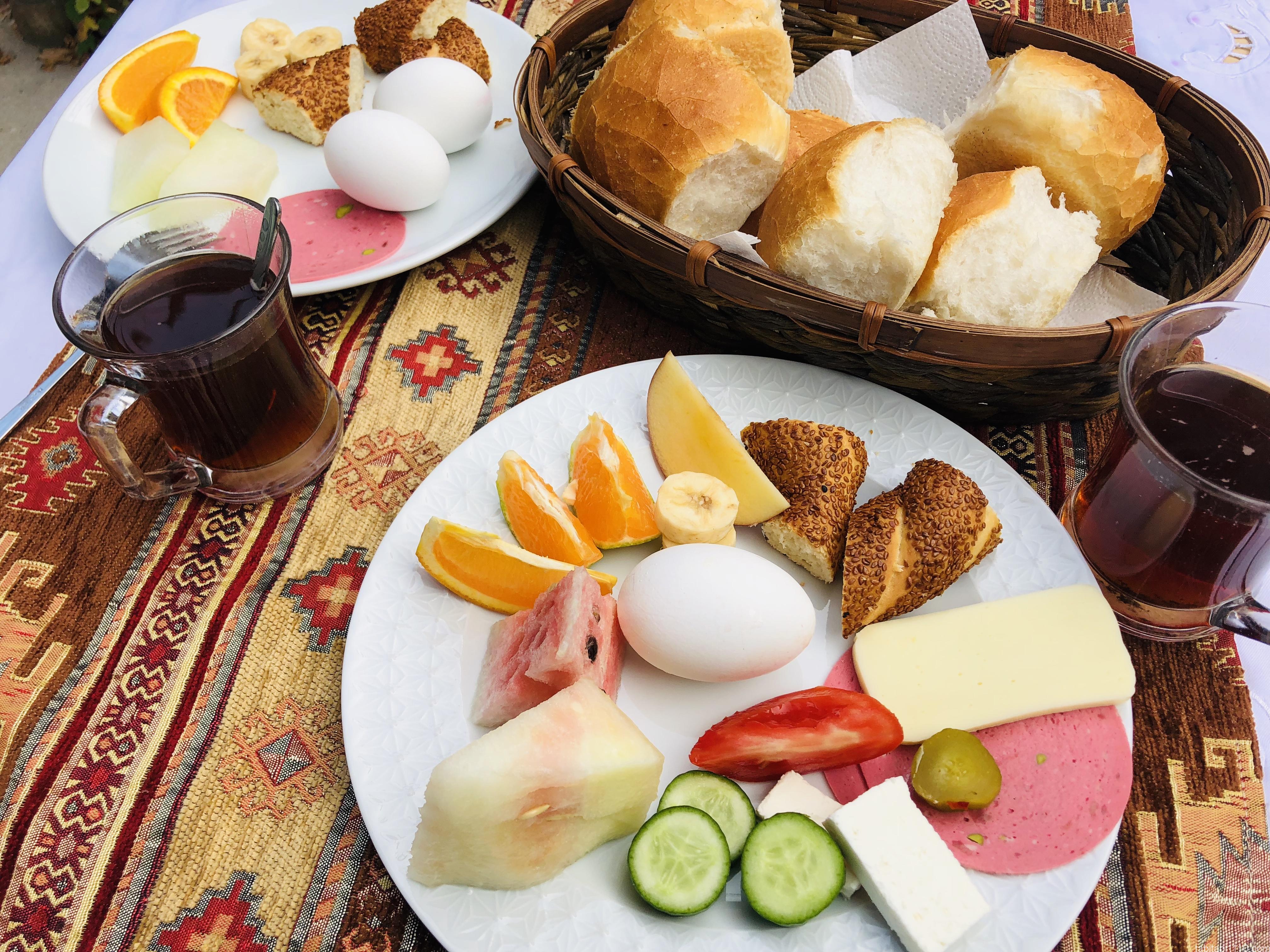 ギョレメ宿|朝食プレート