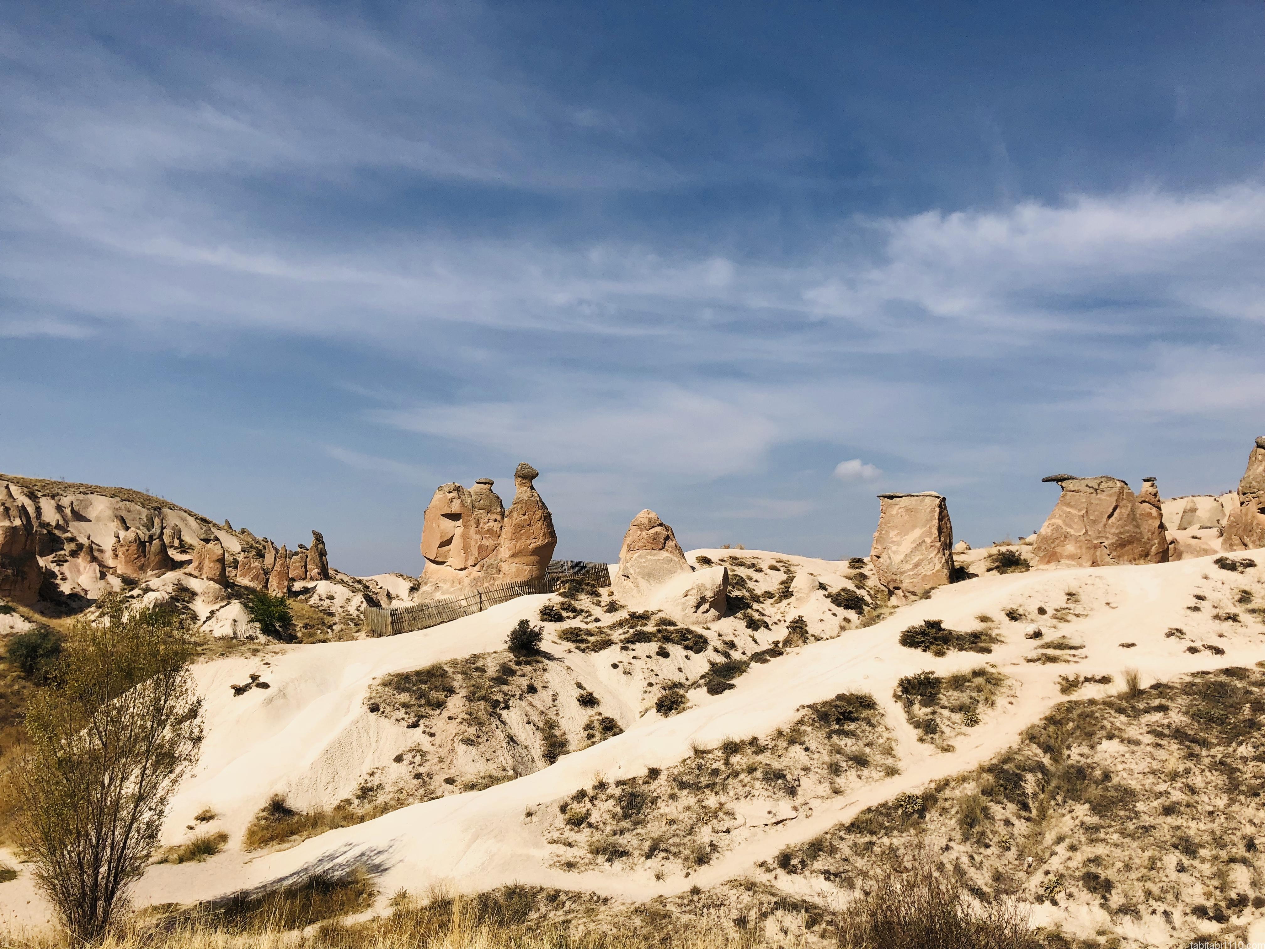 カッパドキア|ラクダ岩