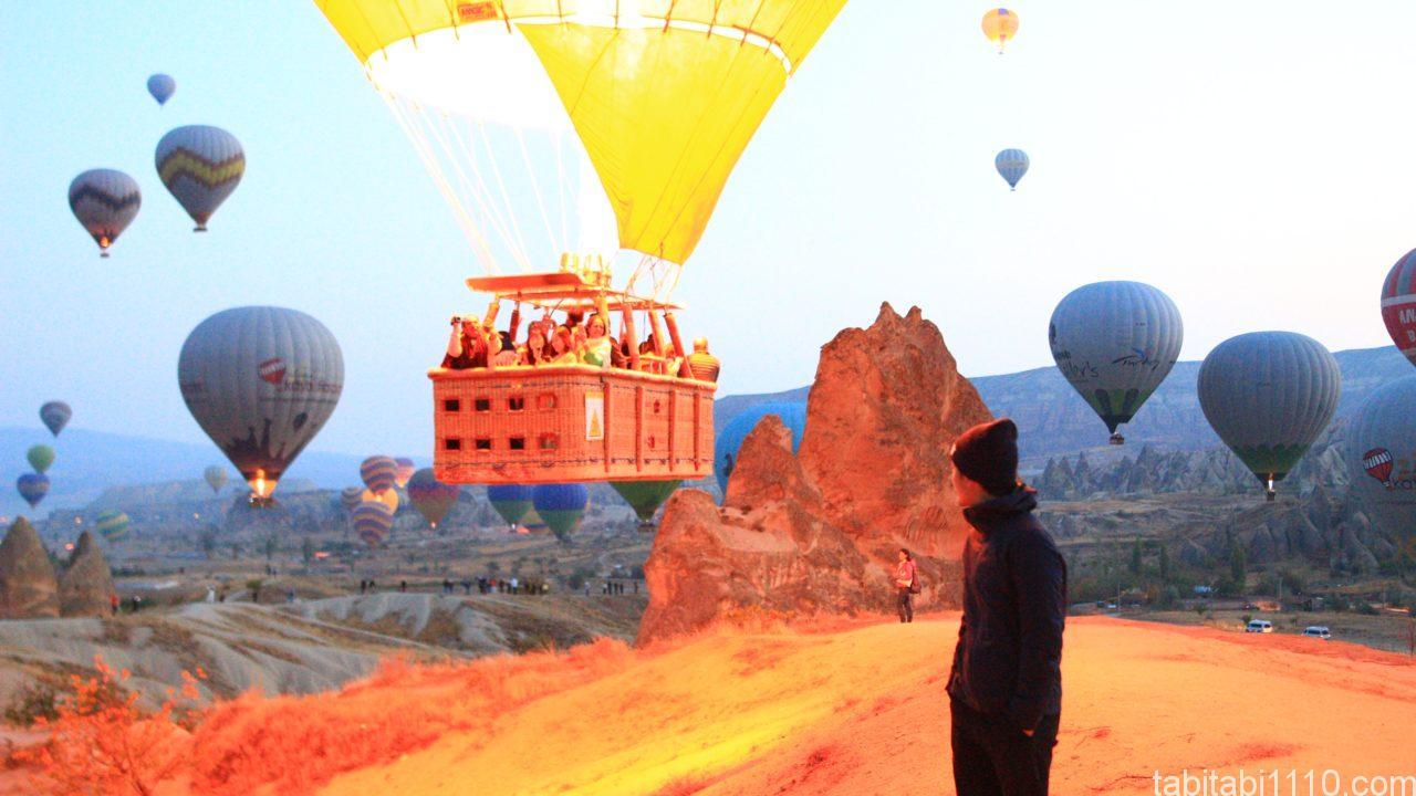 カッパドキア|気球