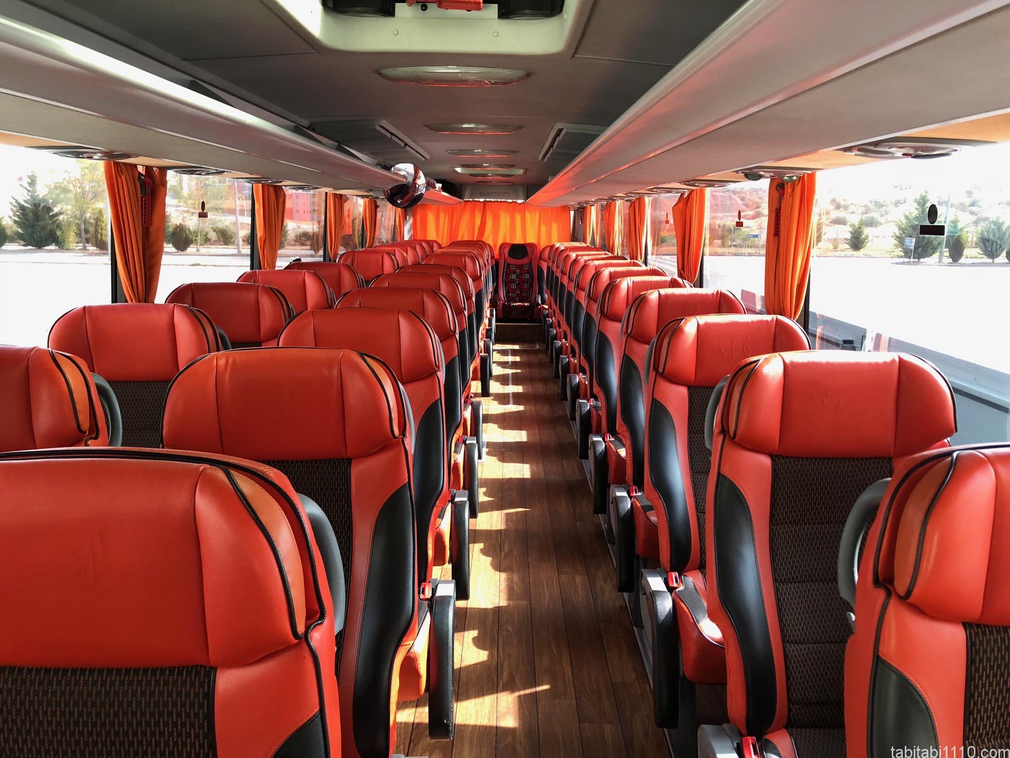 ギョレメからアンカラの移動|ネヴシェヒルからのバス