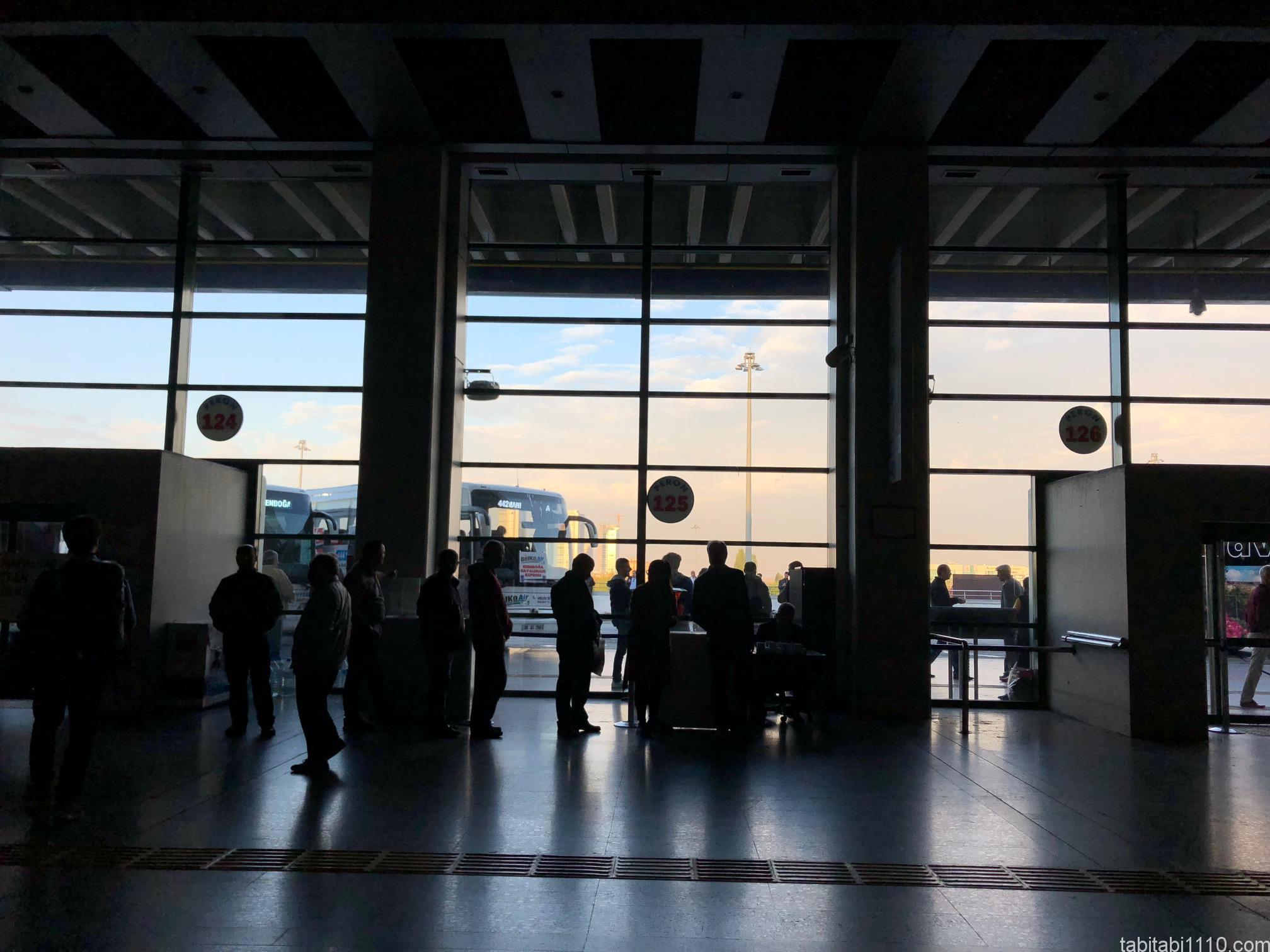 アンカラ市内からエセンボーア国際空港