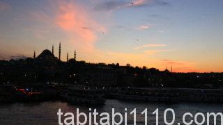 イスタンブール|夕焼け