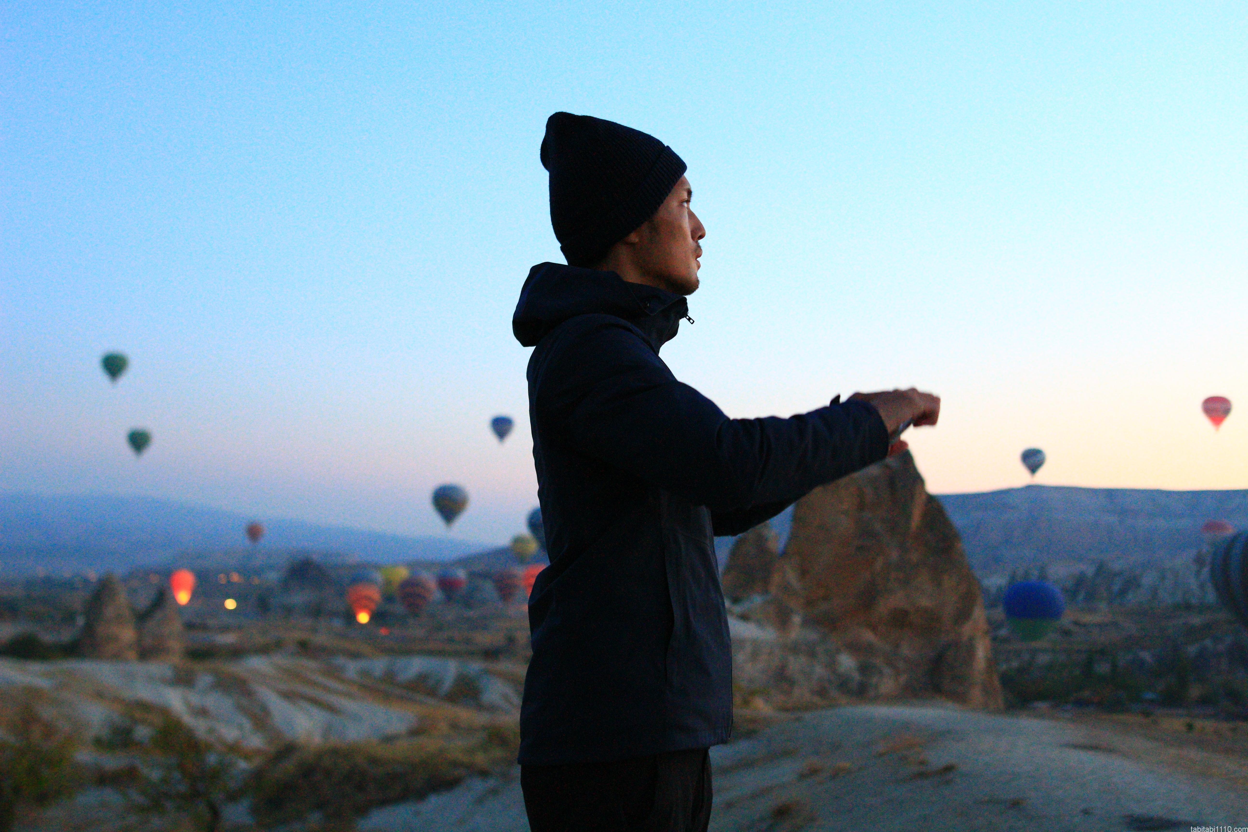 カッパドキア熱気球|撮影
