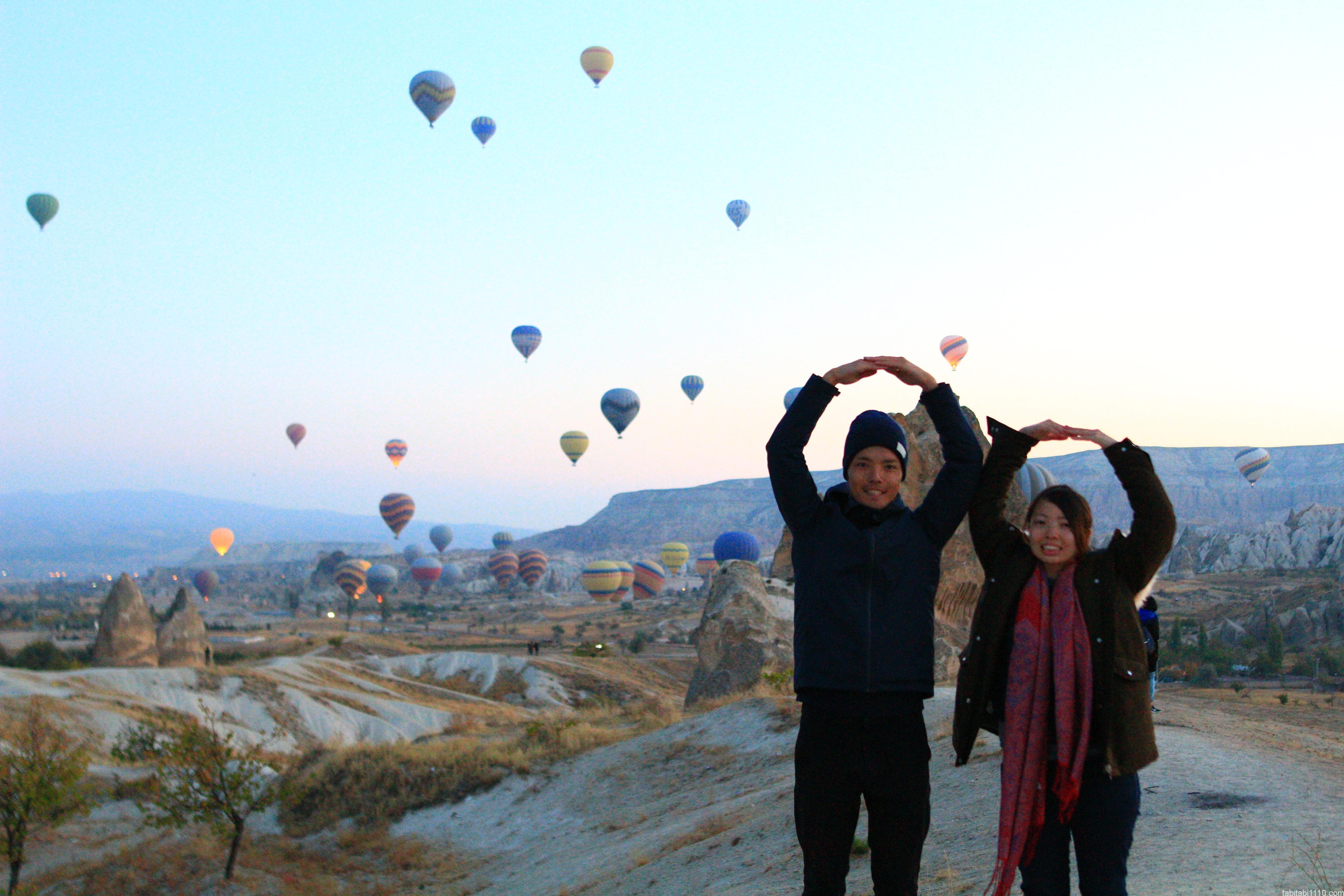 カッパドキア熱気球|記念撮影