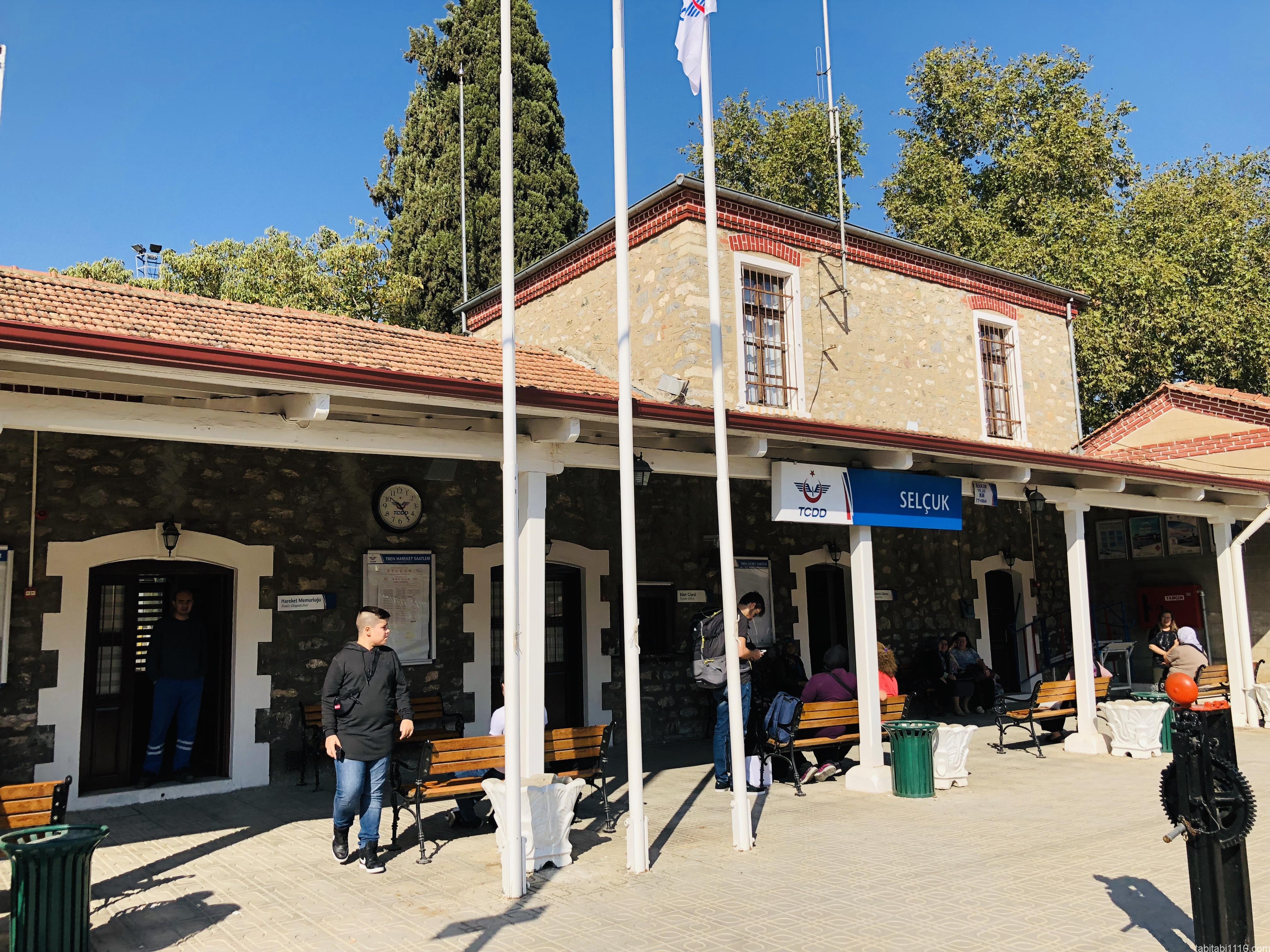 セルチュクからデニズリ(パムッカレ)|セルチュク駅