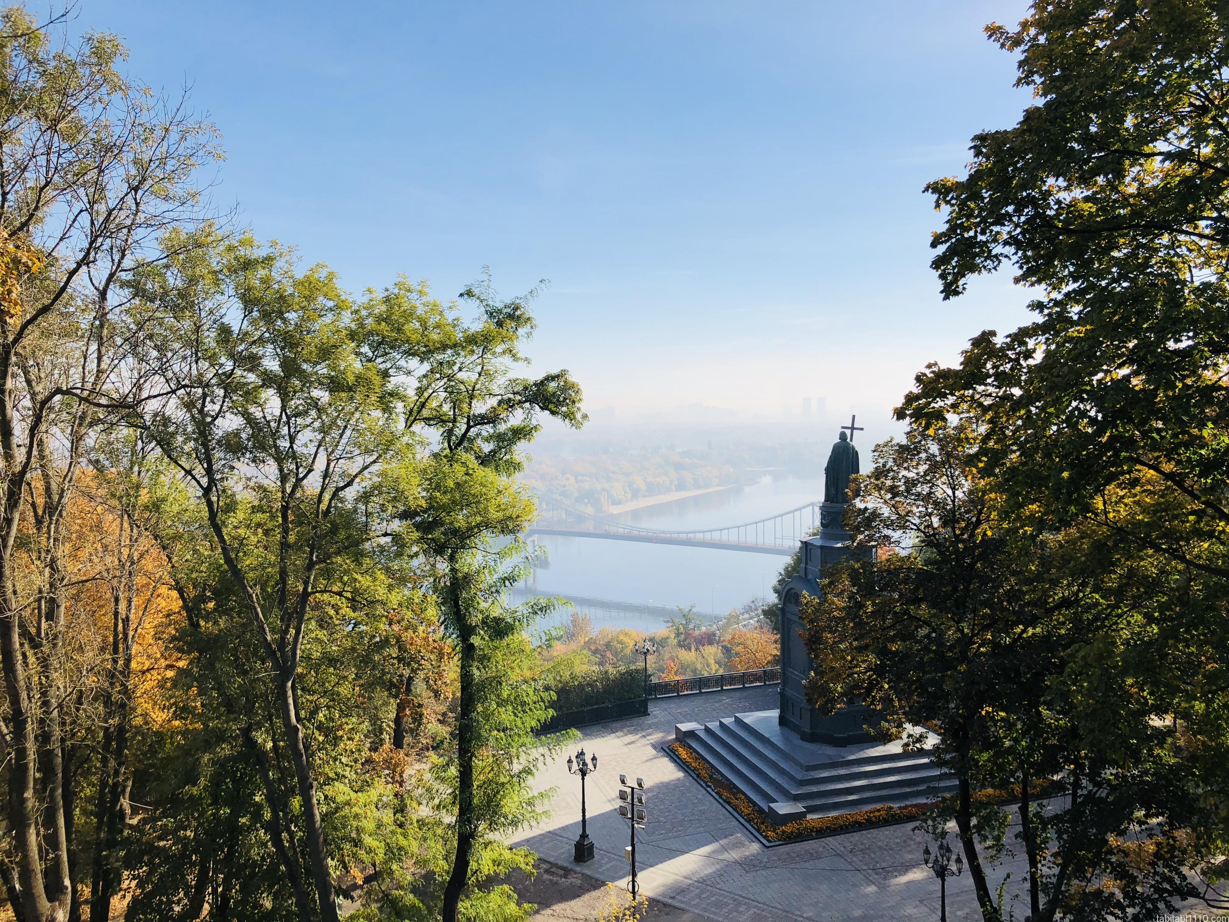 キエフ|公園からの眺望