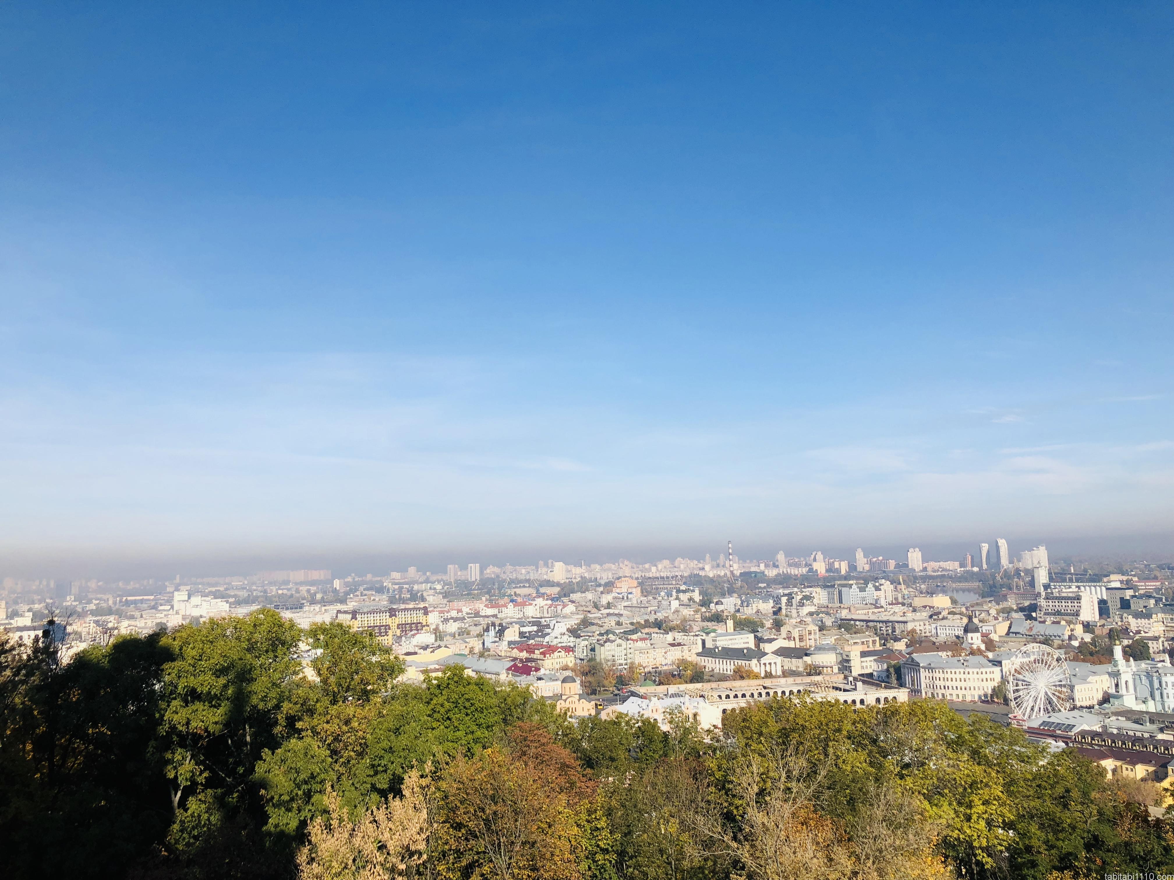 キエフ|聖アンドリーイ教会からの景色
