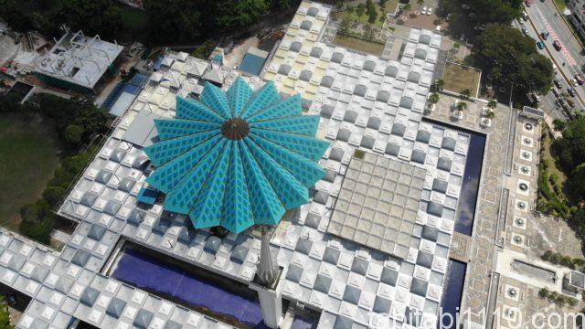クアラルンプールのナショナルモスク