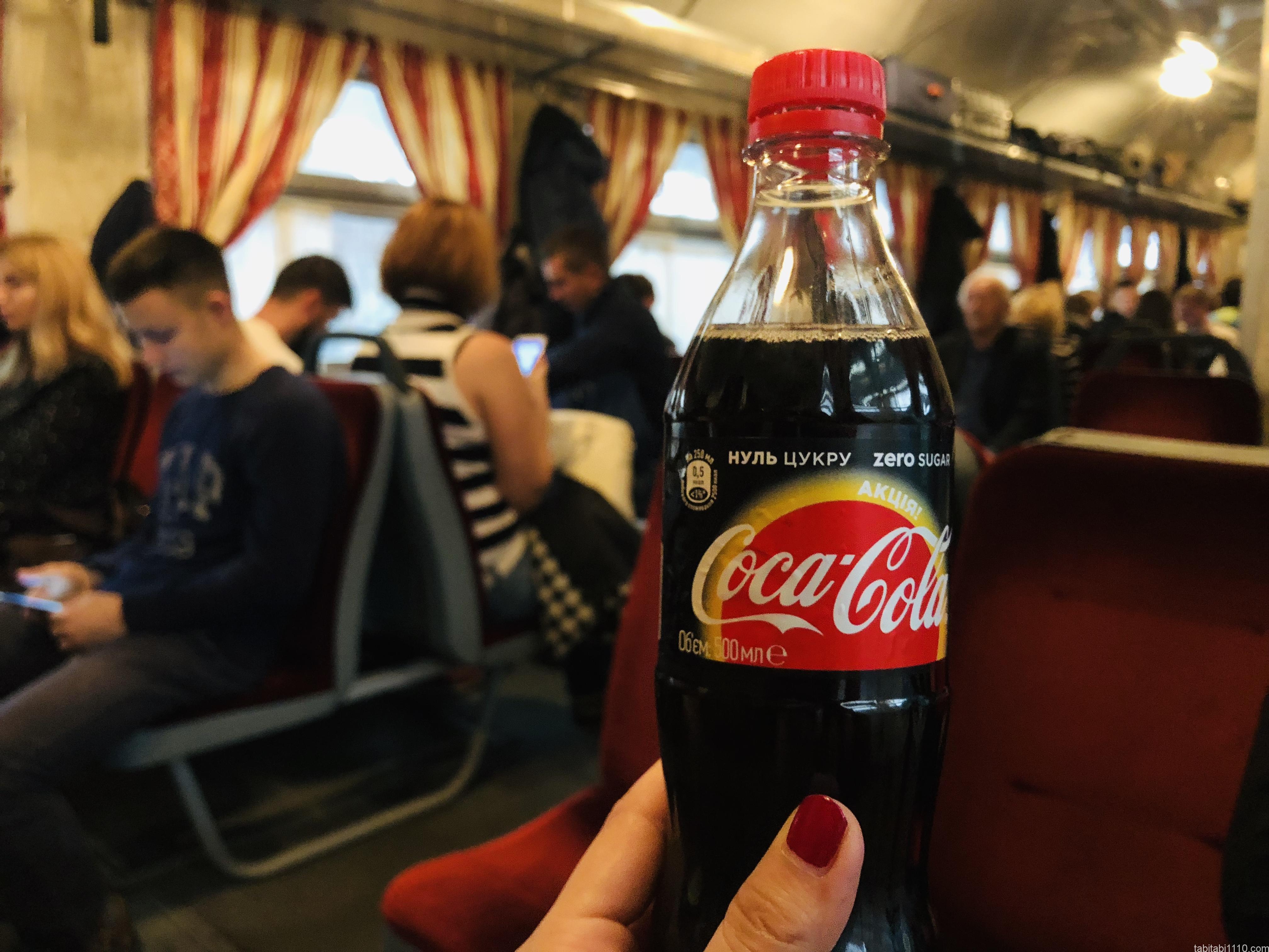 ウクライナのコカ・コーラ