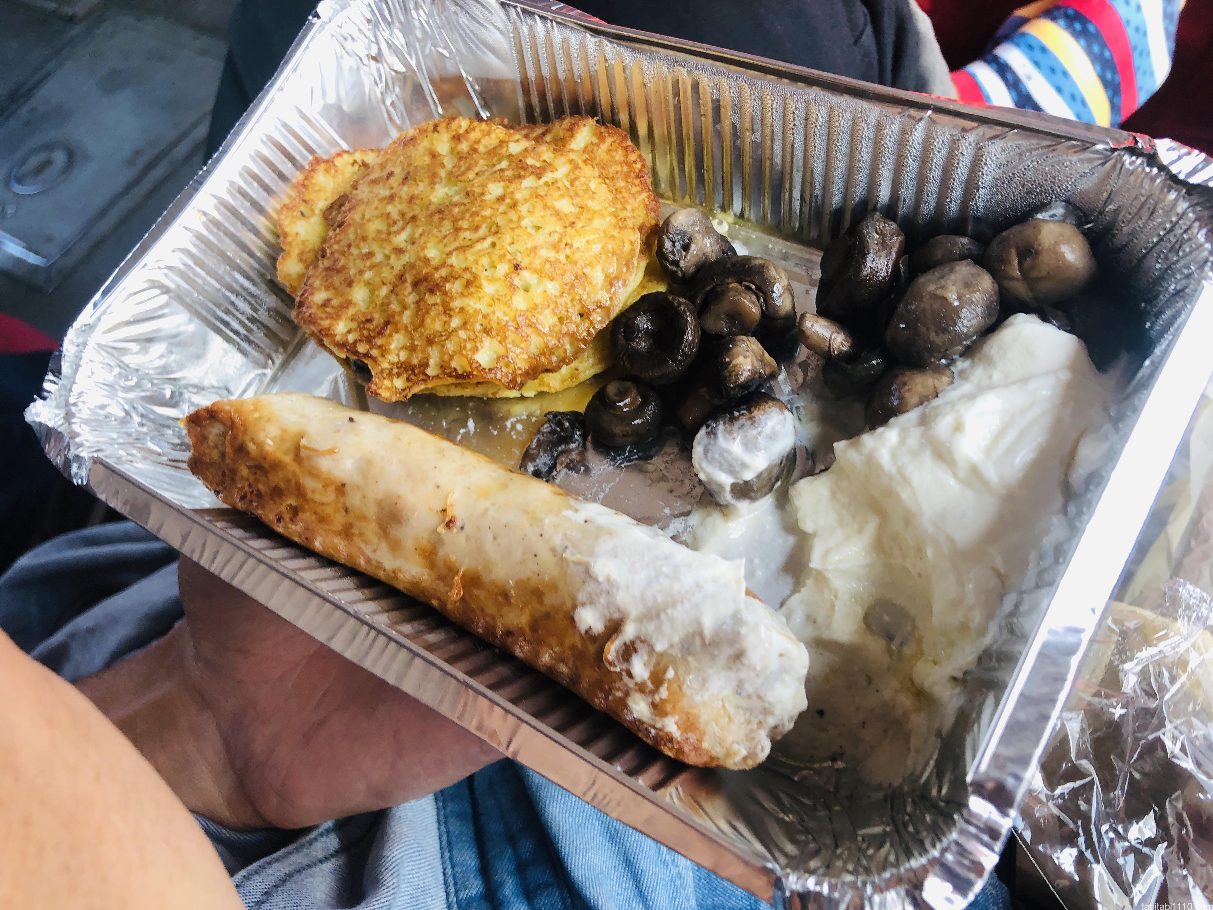 プザタハタの朝食プレート2