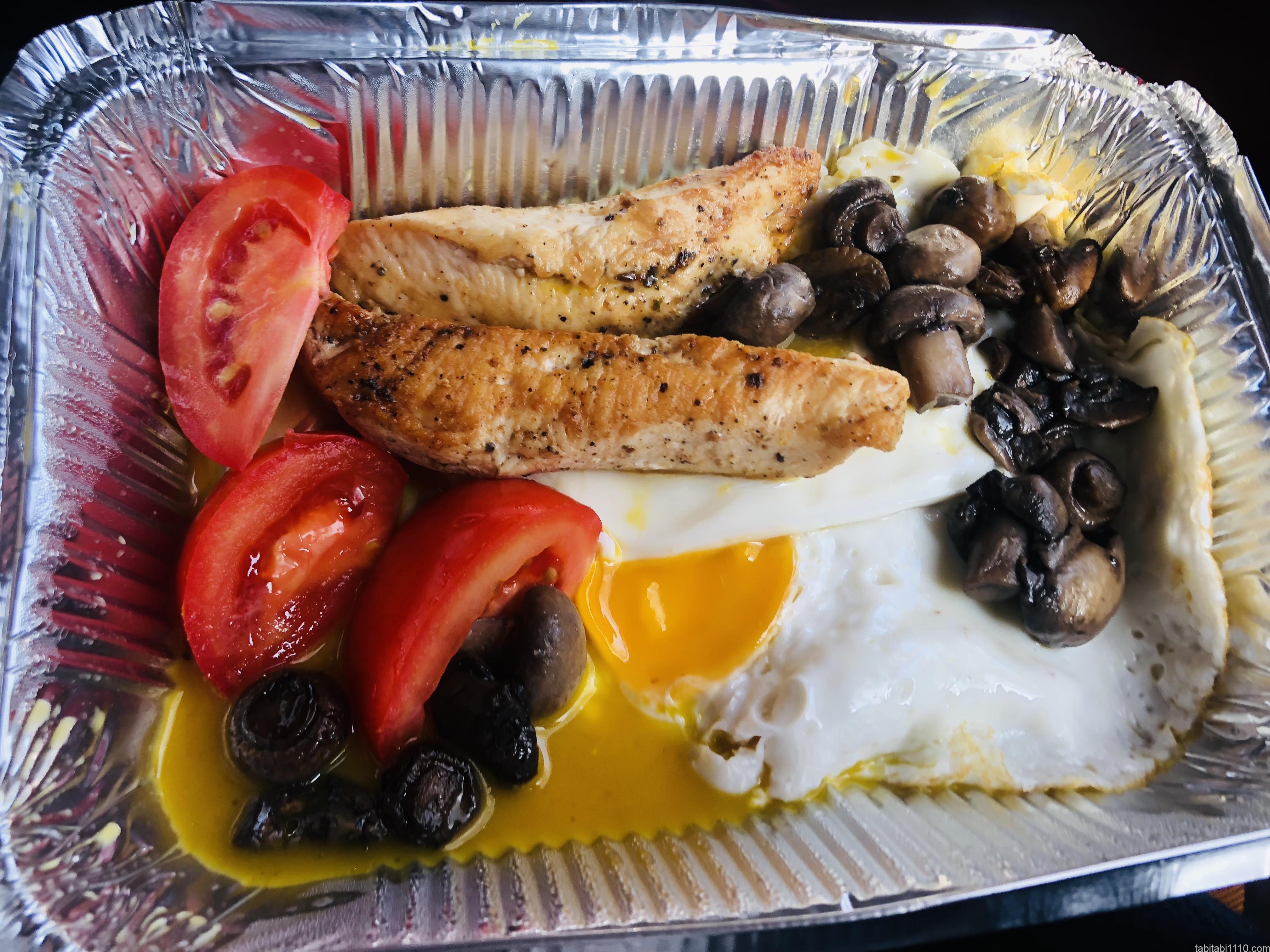 プザタハタの朝食プレート1
