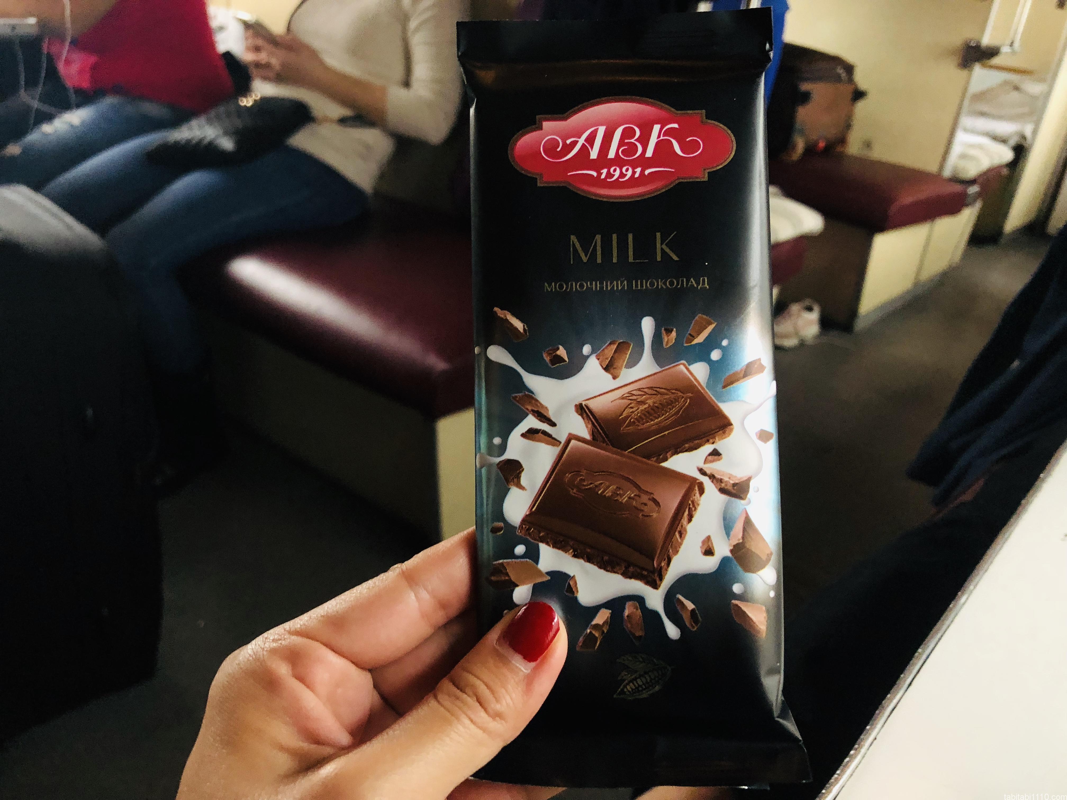 ウクライナのチョコレート