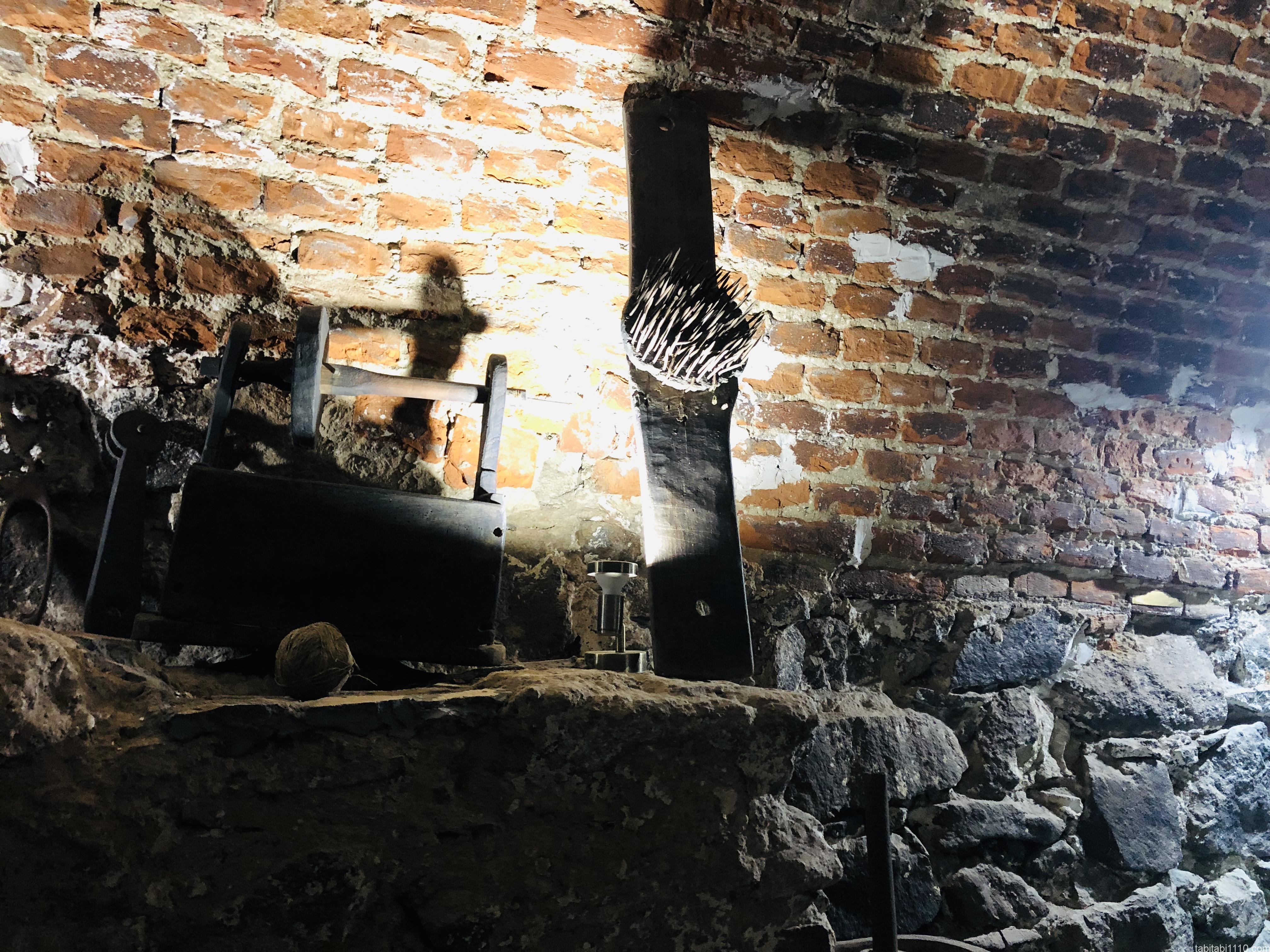 ウジホロド城|拷問博物館3