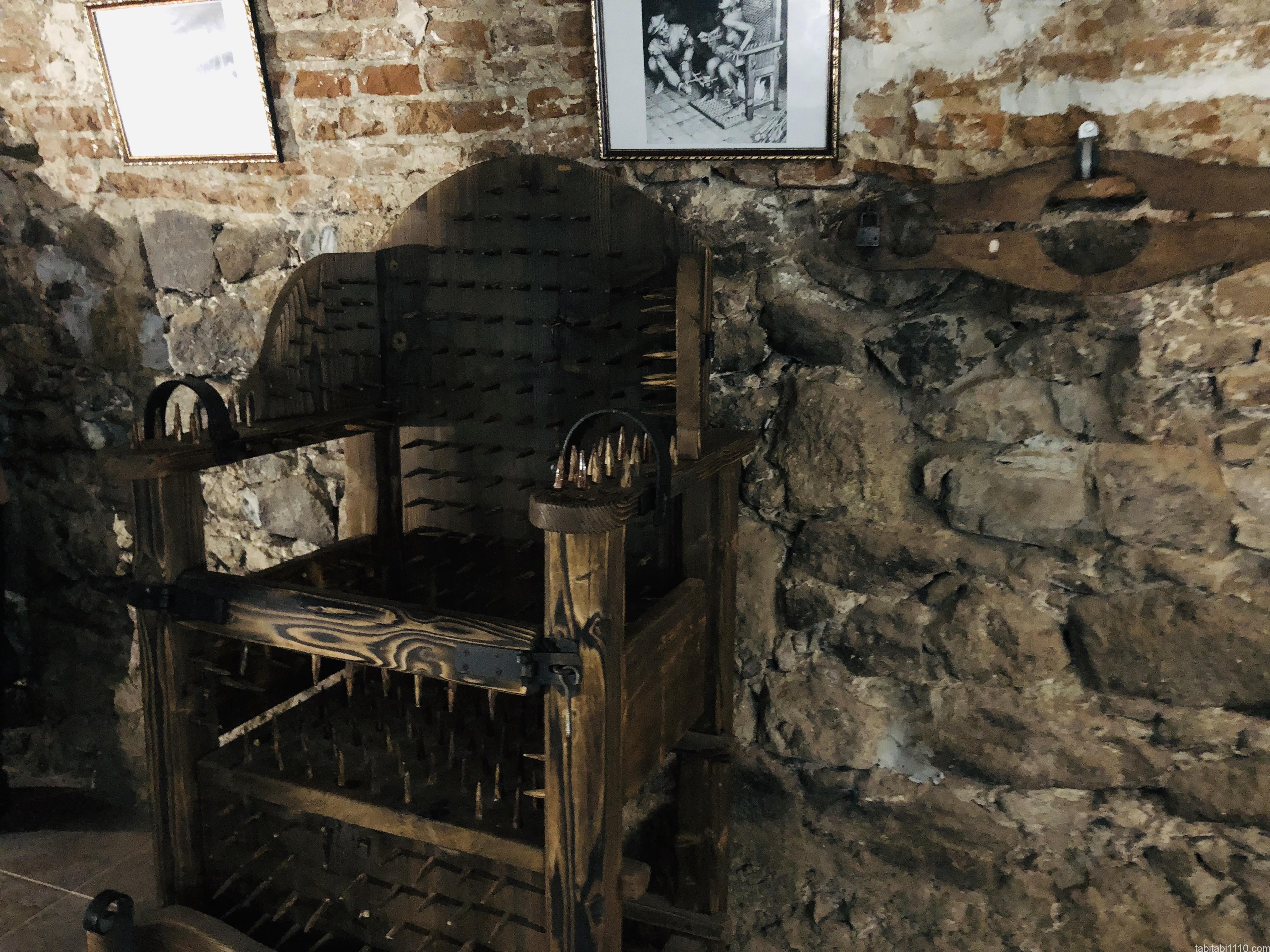ウジホロド城|拷問博物館2