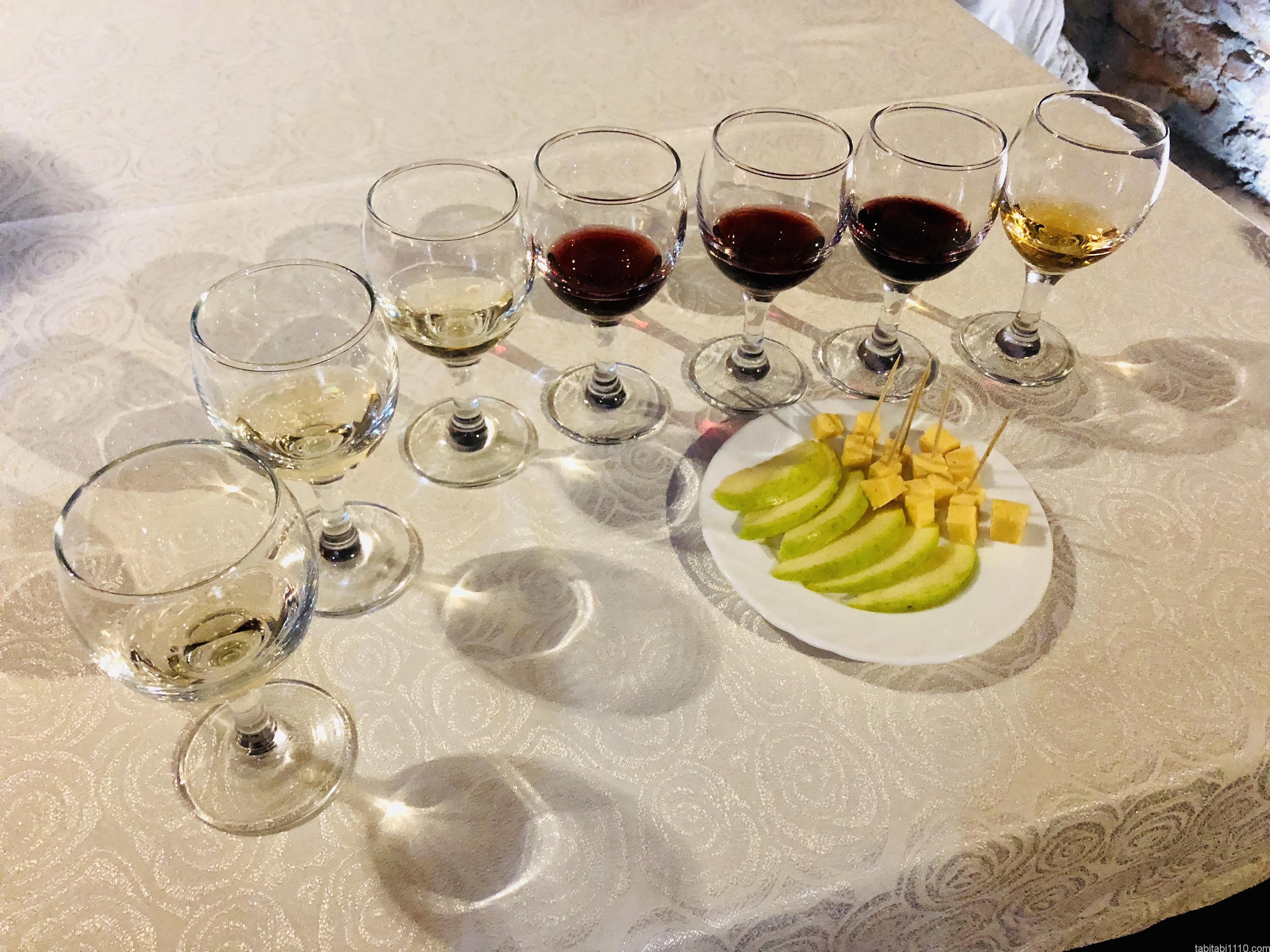 ウジホロド城|ワイン試飲
