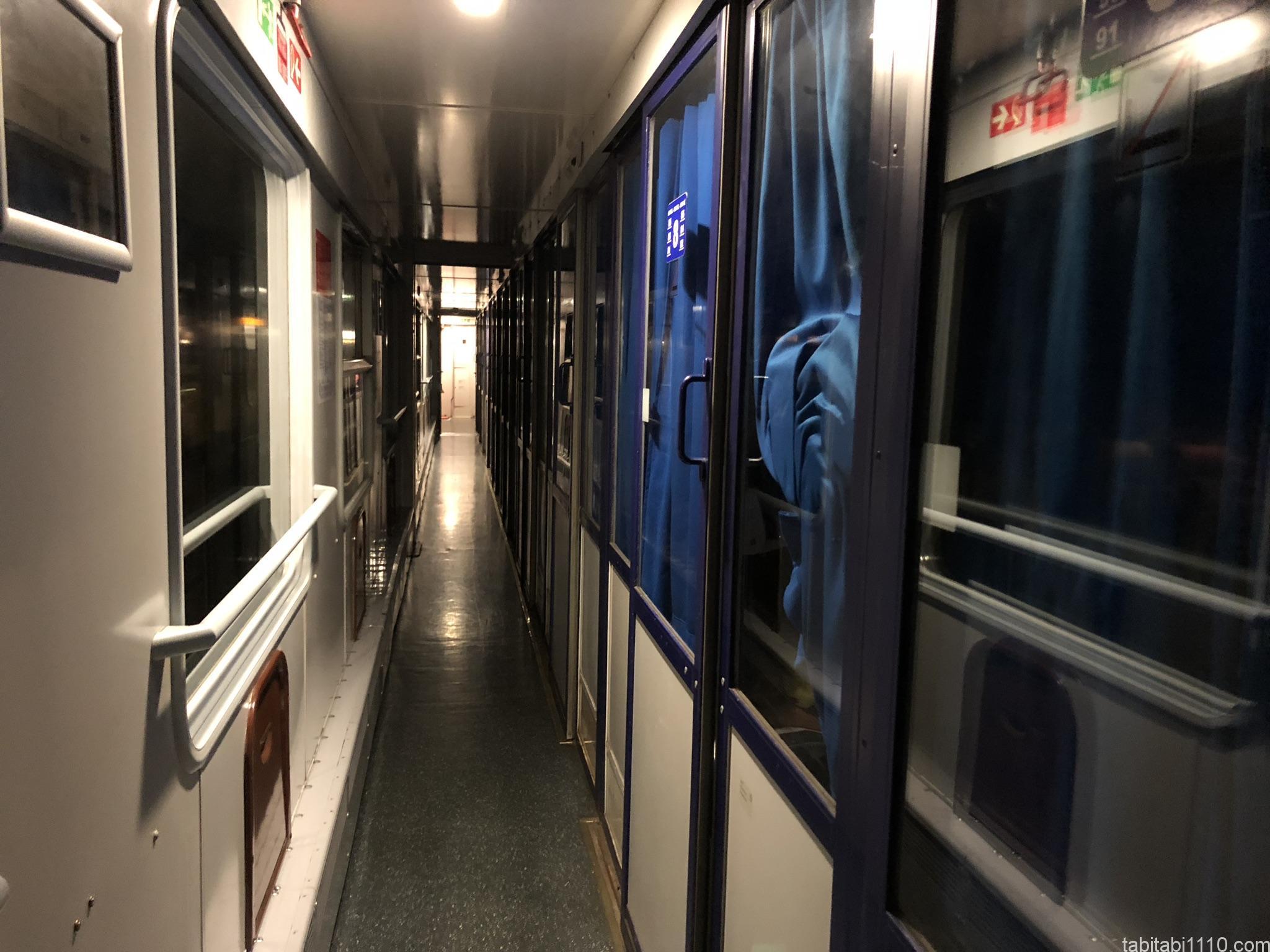 ブラチスラバ行きの夜行列車