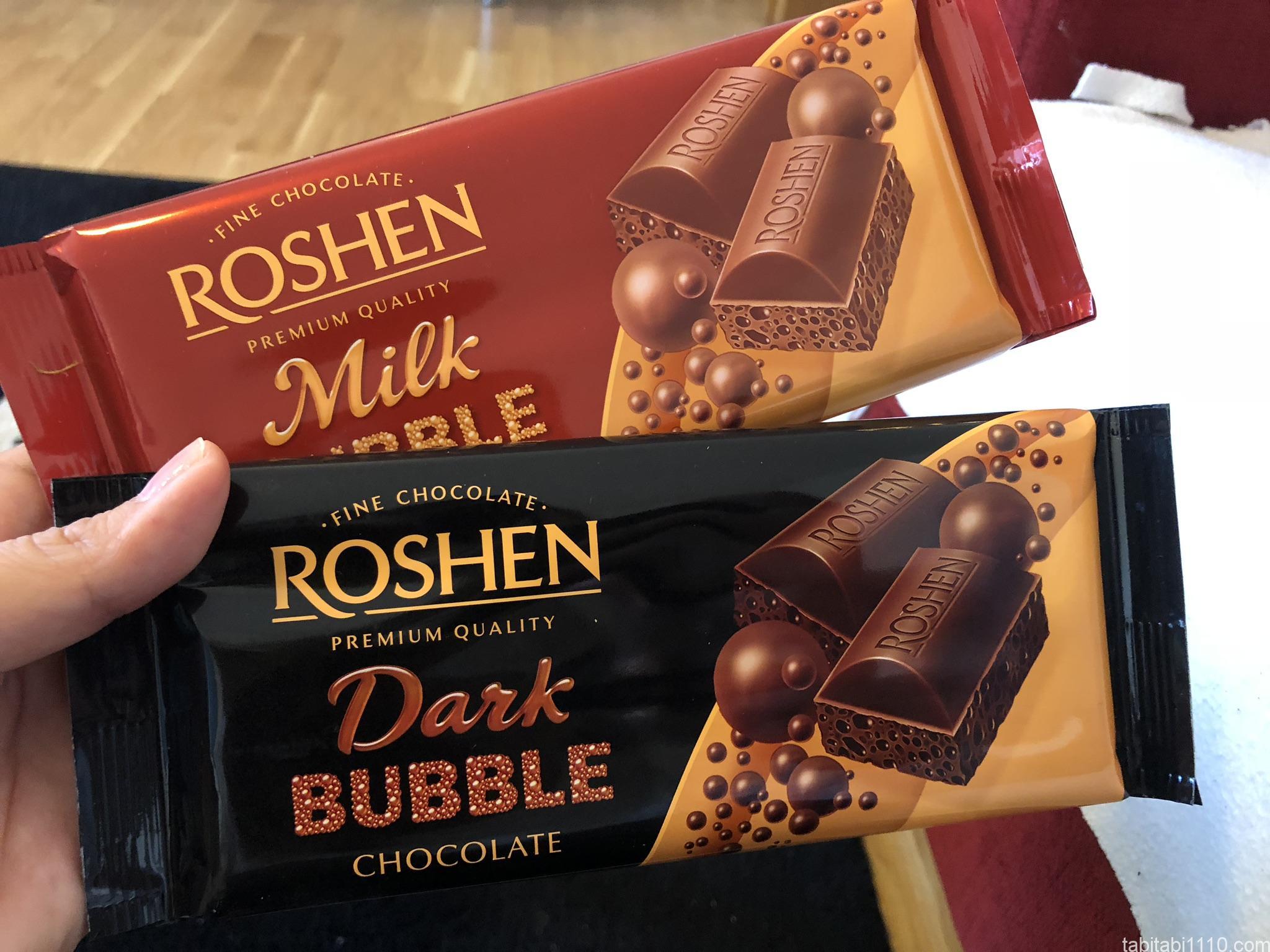 ロッシェンのチョコレート
