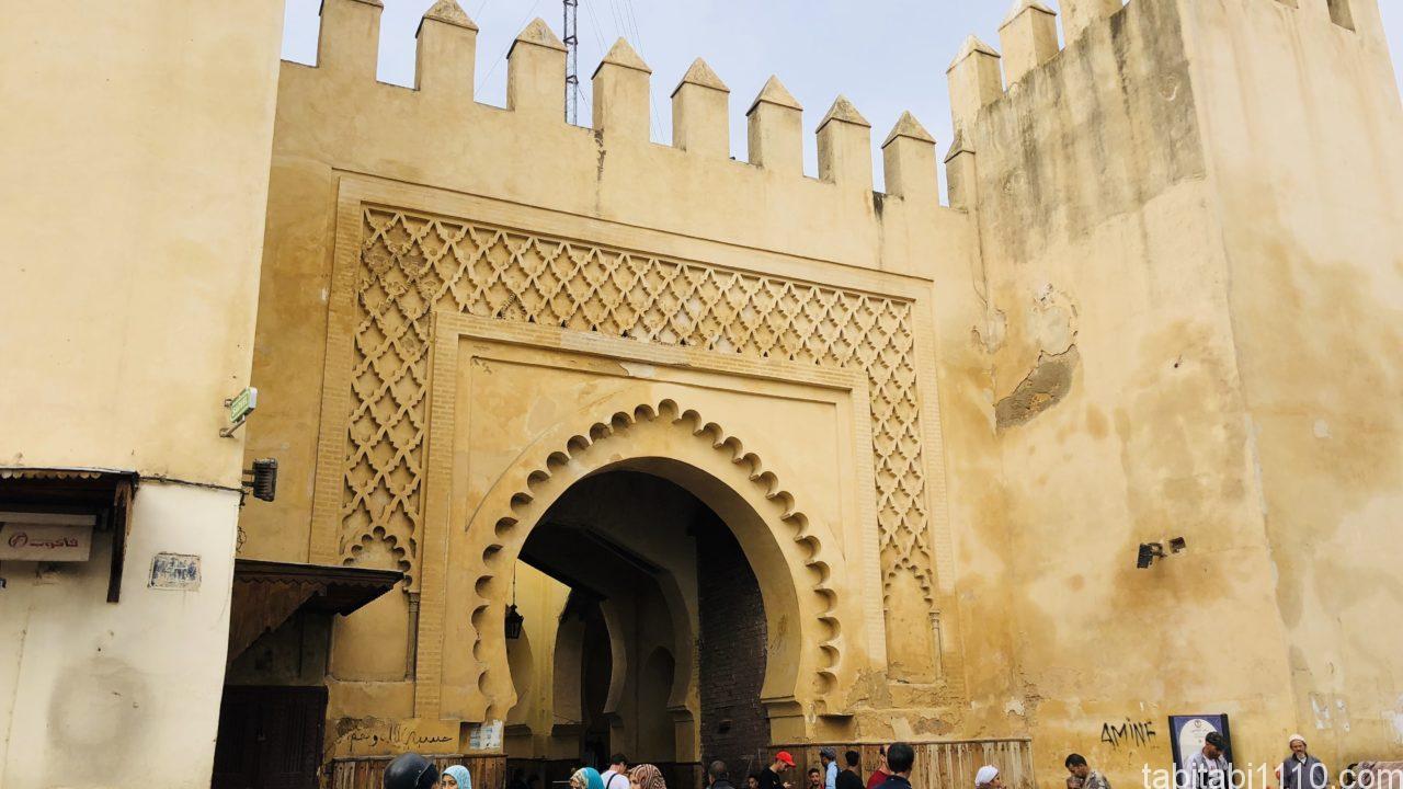 メディナ(旧市街)へのゲート