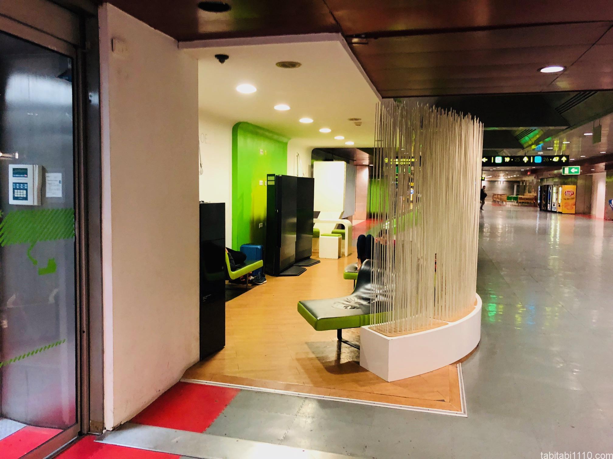 リスボン空港の仮眠室