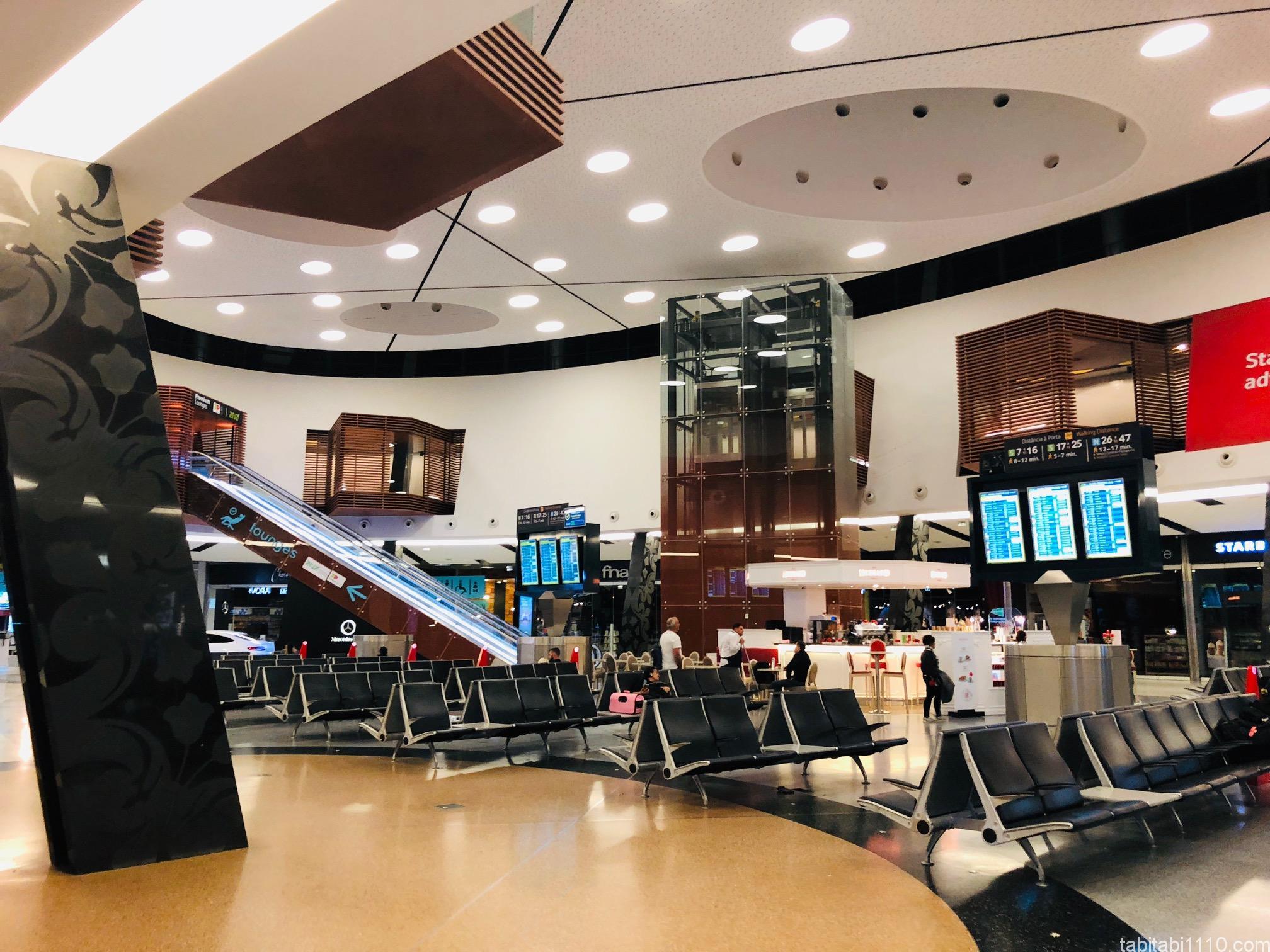 リスボン空港のイス2